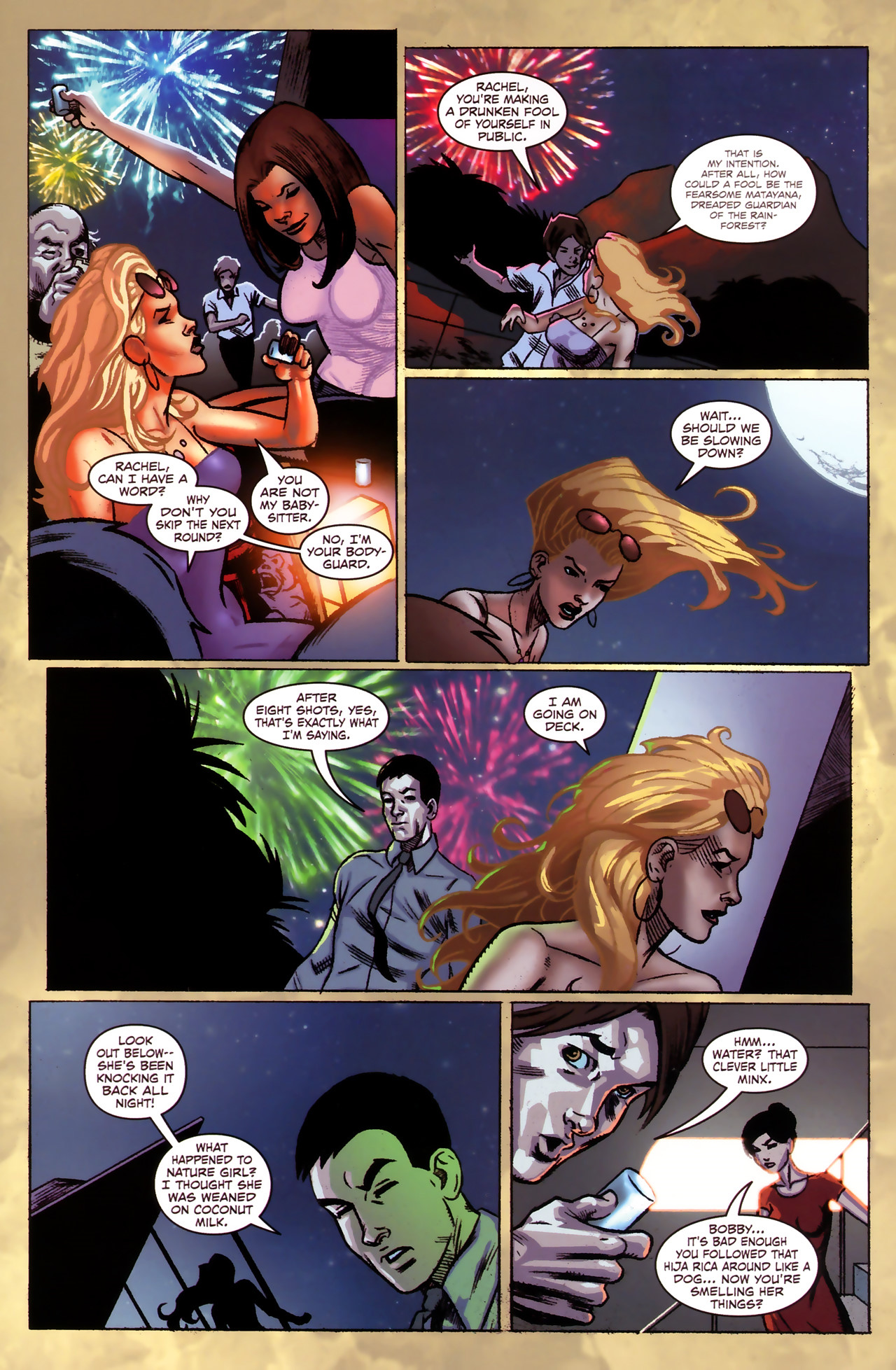 Read online Sheena Queen of the Jungle: Dark Rising comic -  Issue #1 - 8