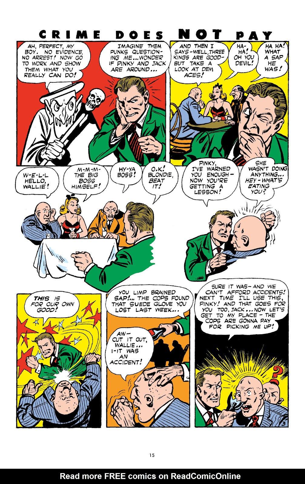 Read online Crime Does Not Pay Archives comic -  Issue # TPB 4 (Part 1) - 15