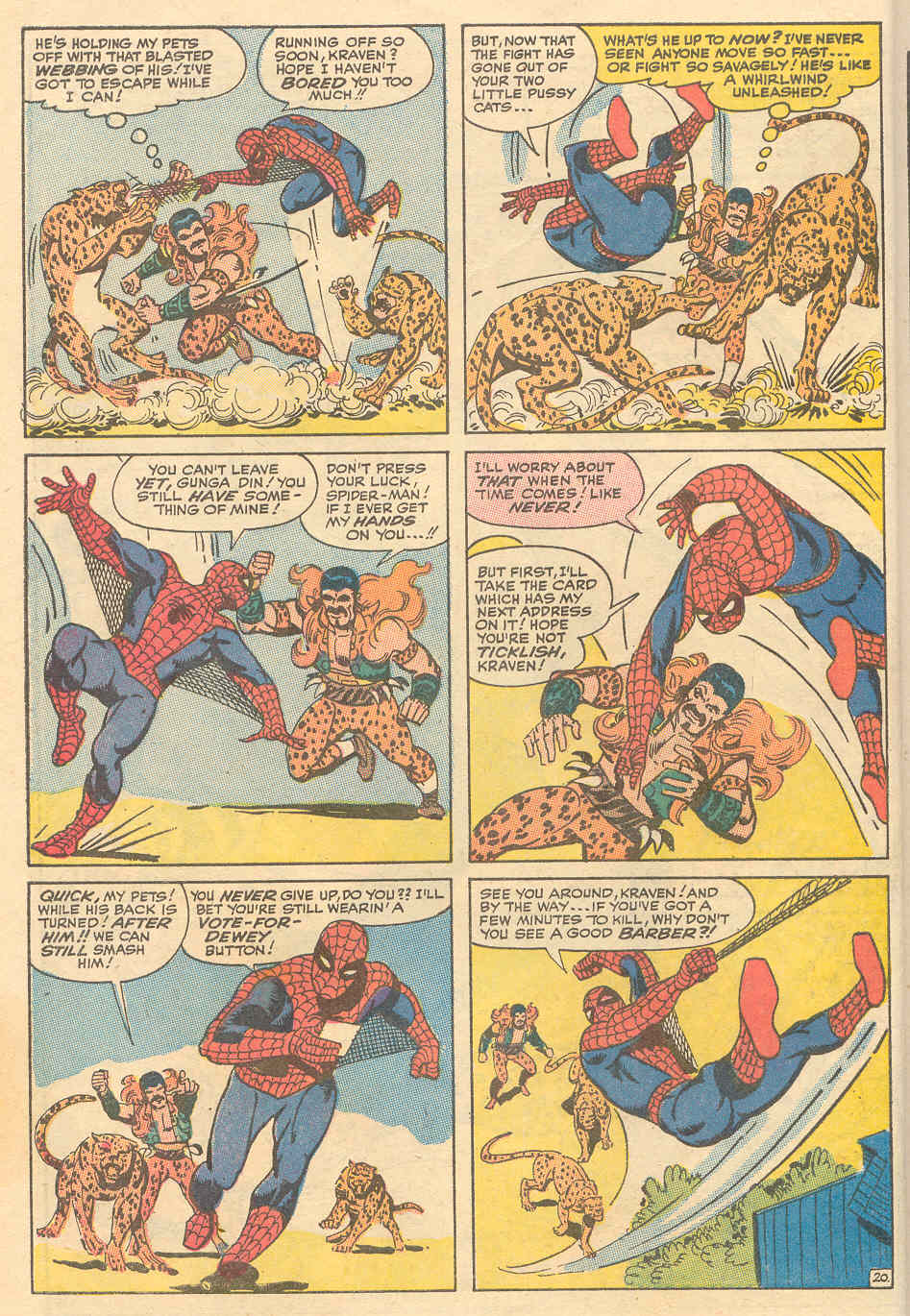 The Amazing Spider-Man (1963) _Annual_6 Page 20