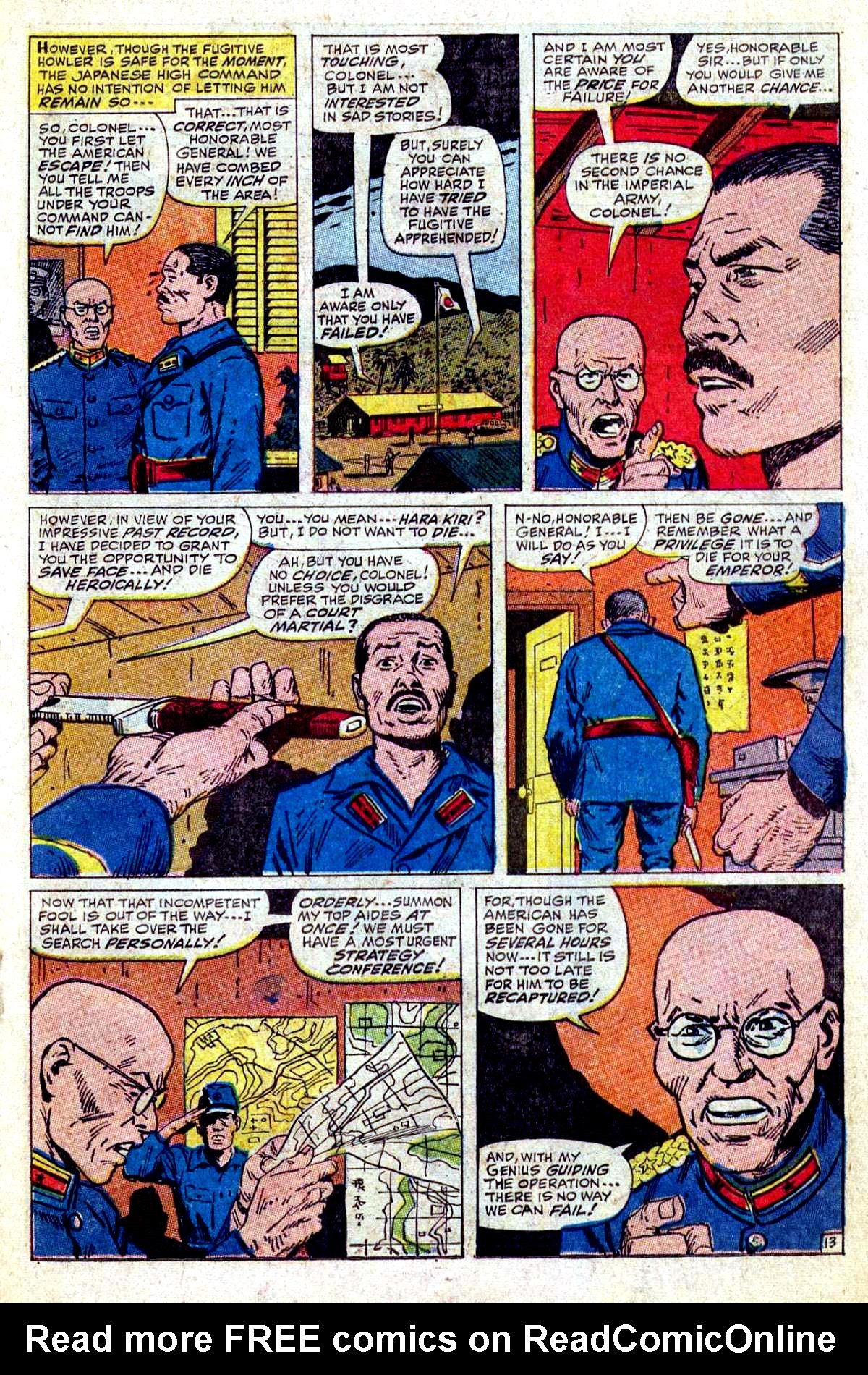 Read online Sgt. Fury comic -  Issue #54 - 19