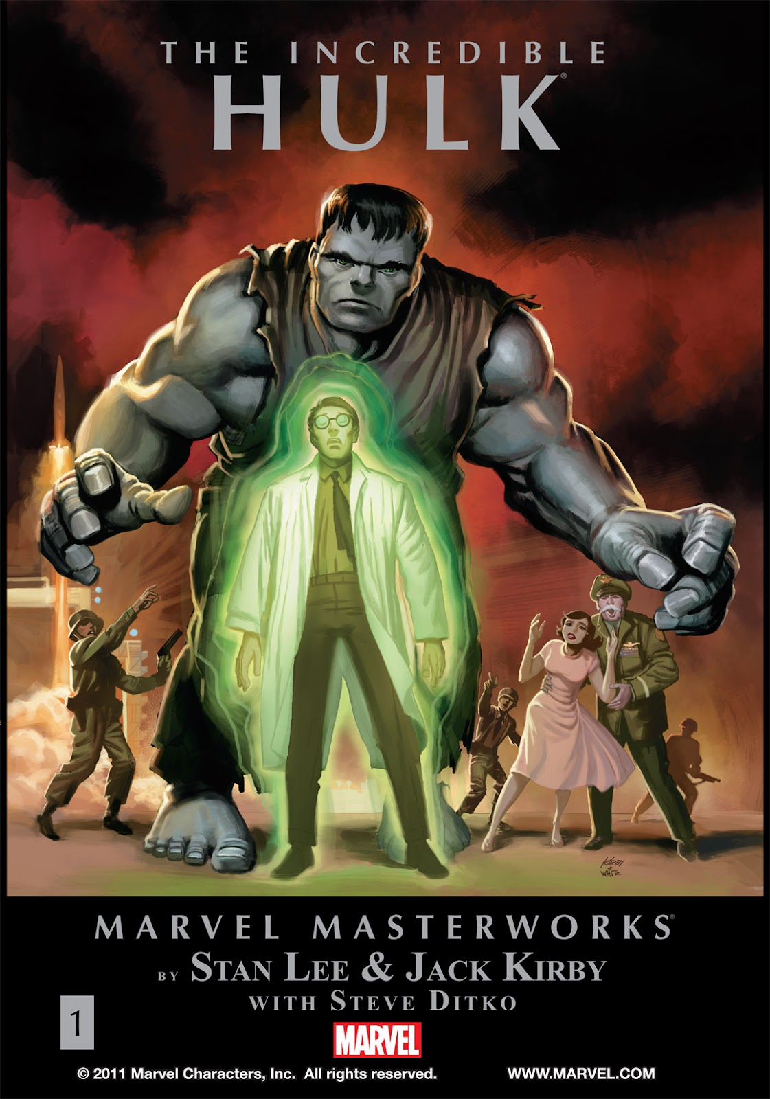 Read online Marvel Masterworks: The Incredible Hulk comic -  Issue # TPB 1 (Part 1) - 1