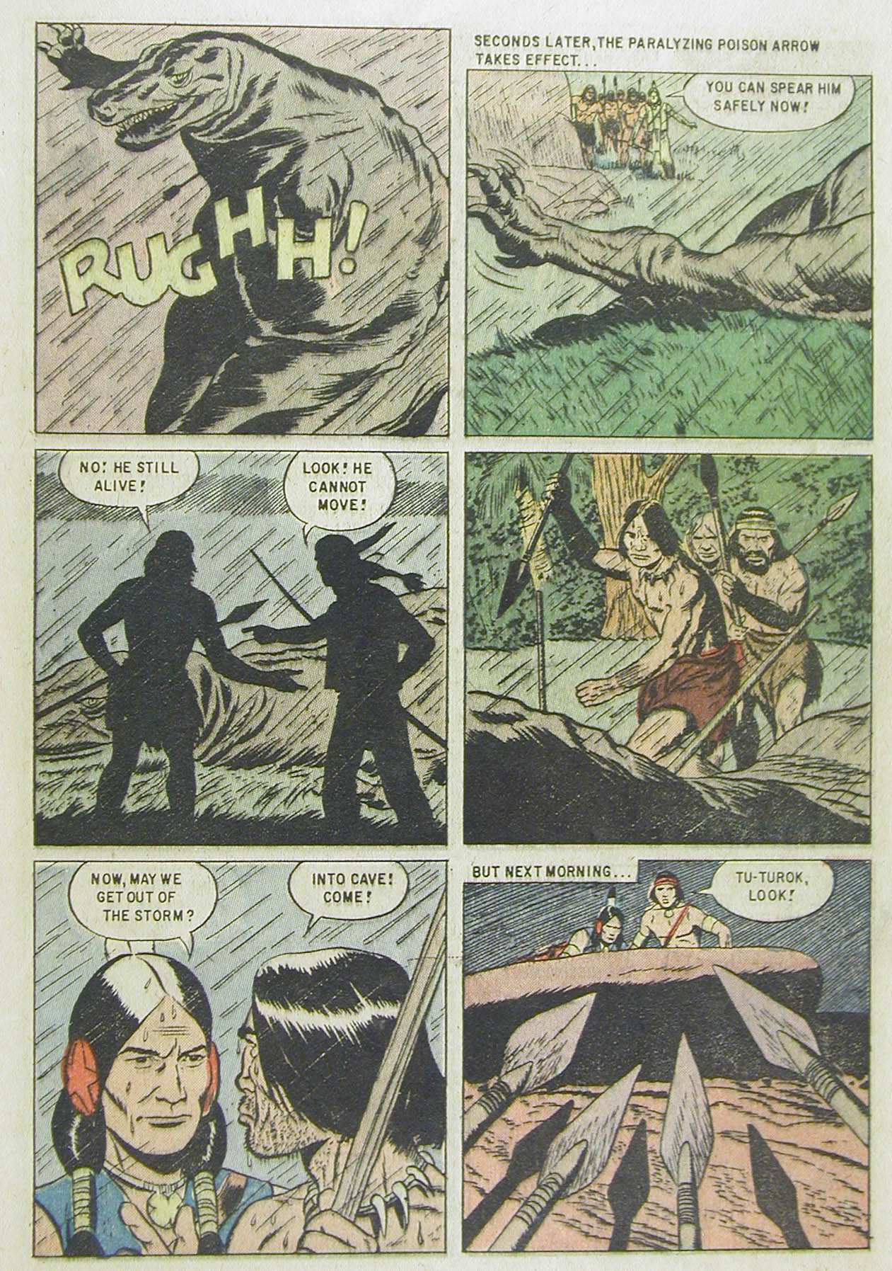 Read online Turok, Son of Stone comic -  Issue #13 - 5