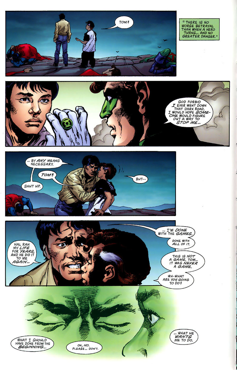 Read online Green Lantern: Legacy: The Last Will and Testament of Hal Jordan comic -  Issue # TPB - 88
