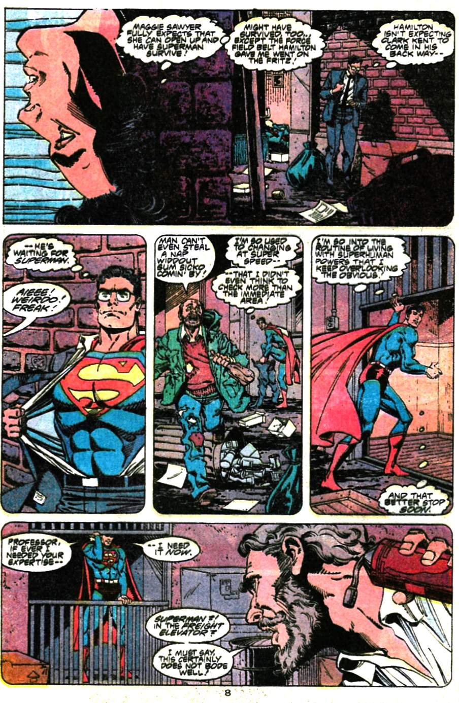 Read online Adventures of Superman (1987) comic -  Issue #472 - 9