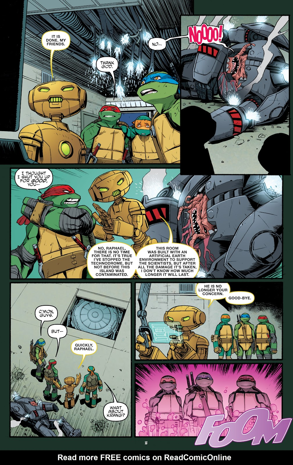 Read online Teenage Mutant Ninja Turtles: The IDW Collection comic -  Issue # TPB 5 (Part 4) - 50