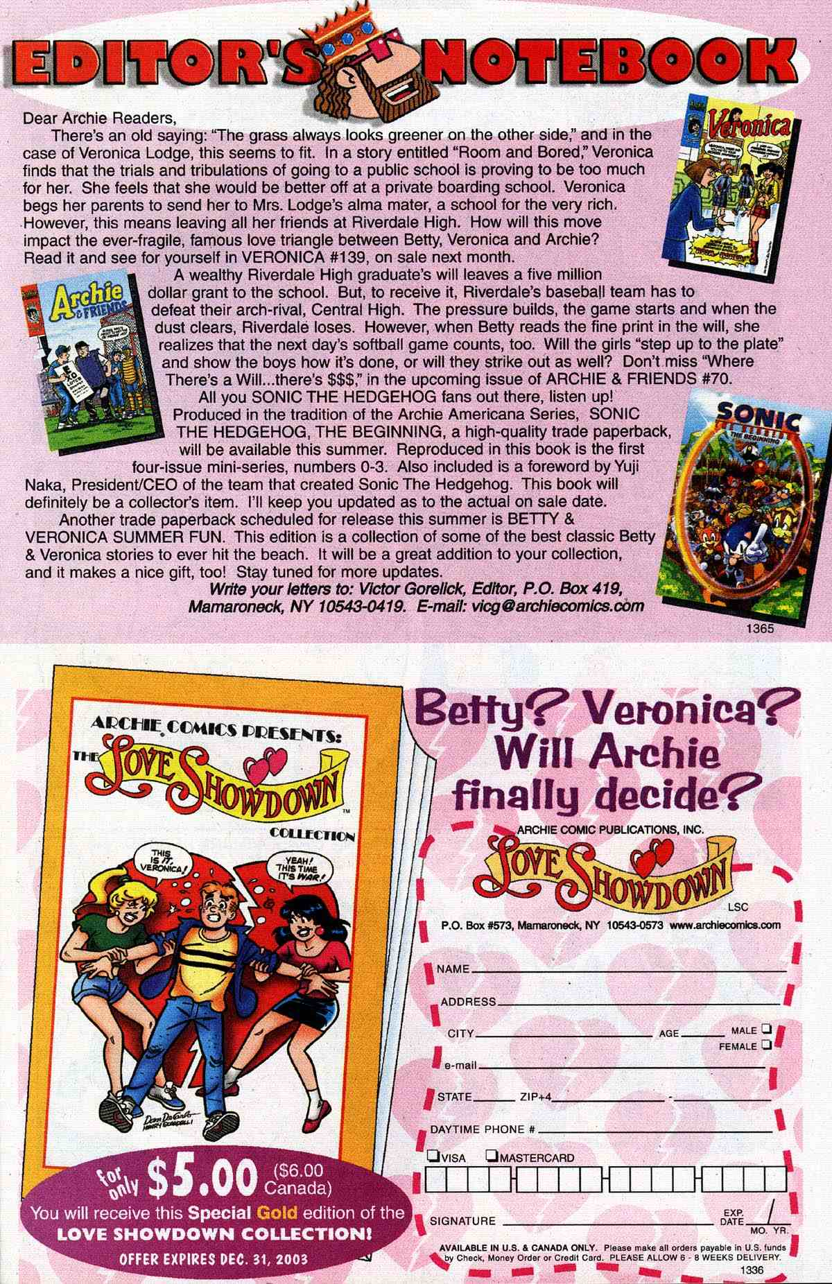 Read online Archie's Girls Betty and Veronica comic -  Issue #187 - 23