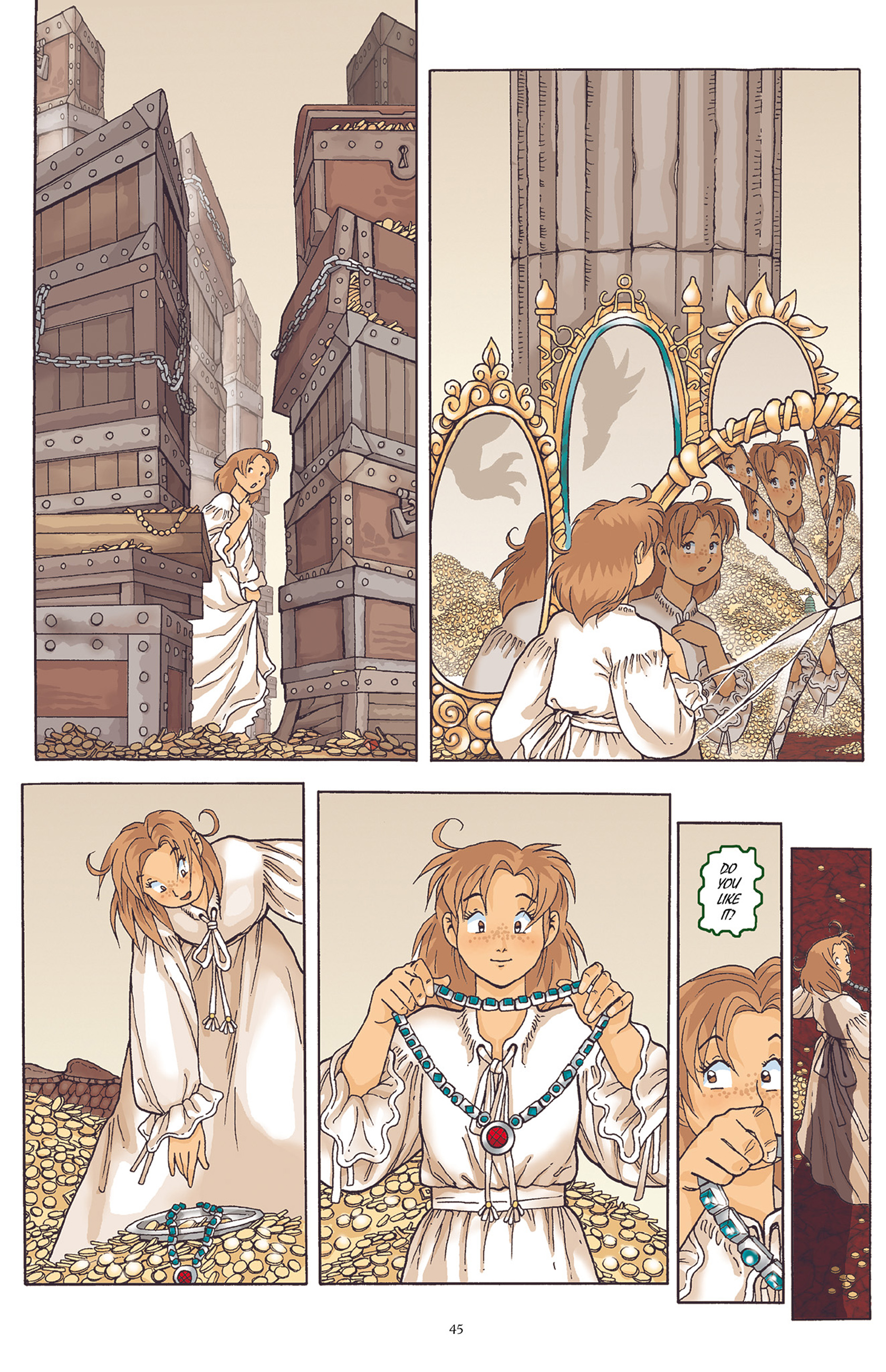 Read online Courageous Princess comic -  Issue # TPB 1 - 46