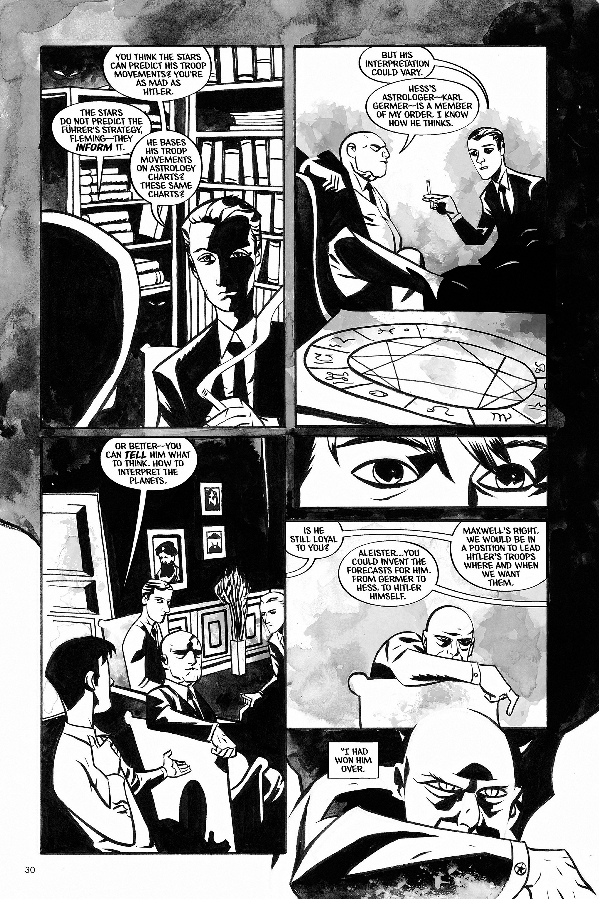 Read online Aleister & Adolf comic -  Issue # TPB - 29