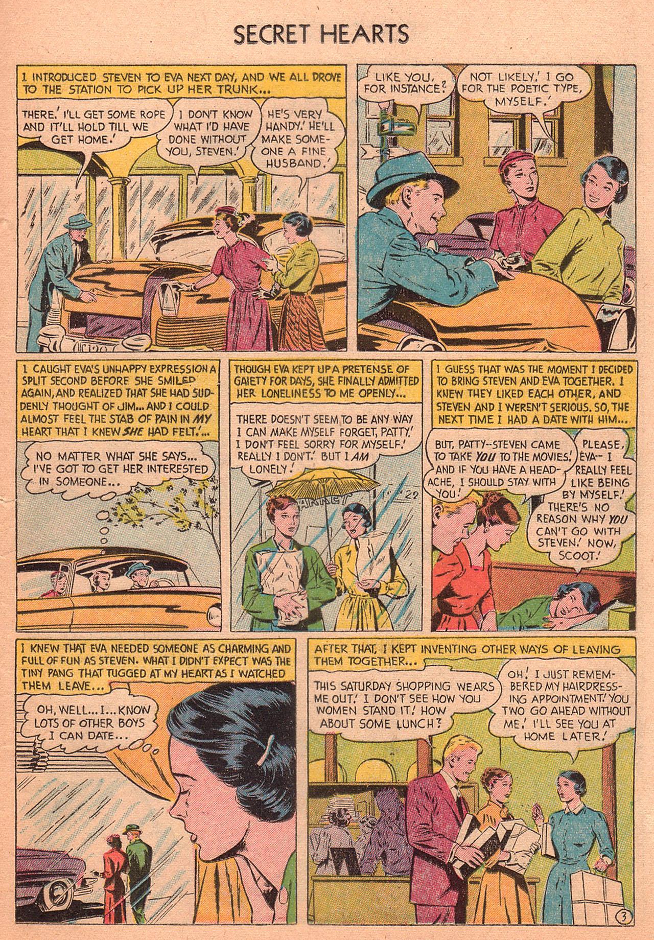 Read online Secret Hearts comic -  Issue #27 - 21