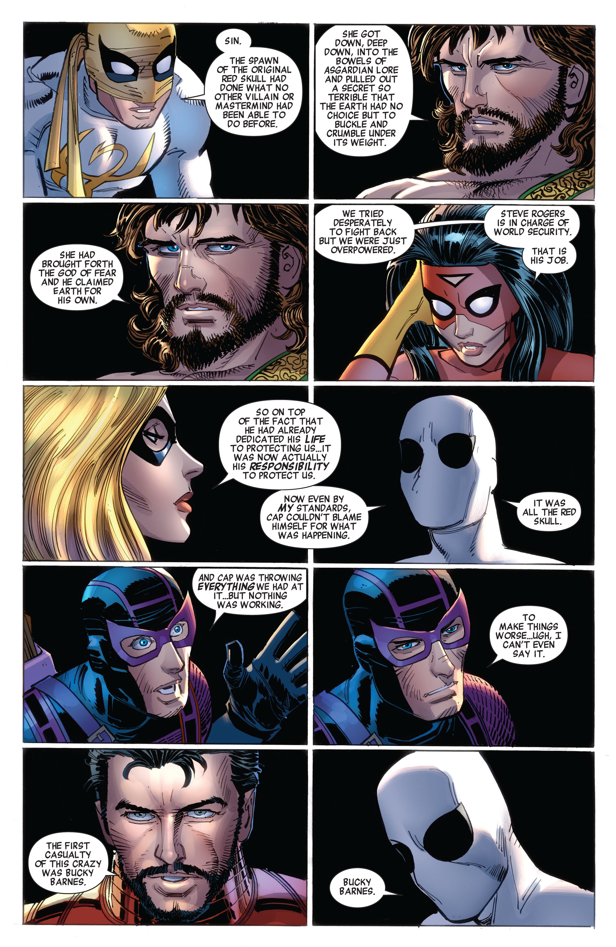 Read online Avengers (2010) comic -  Issue #16 - 4