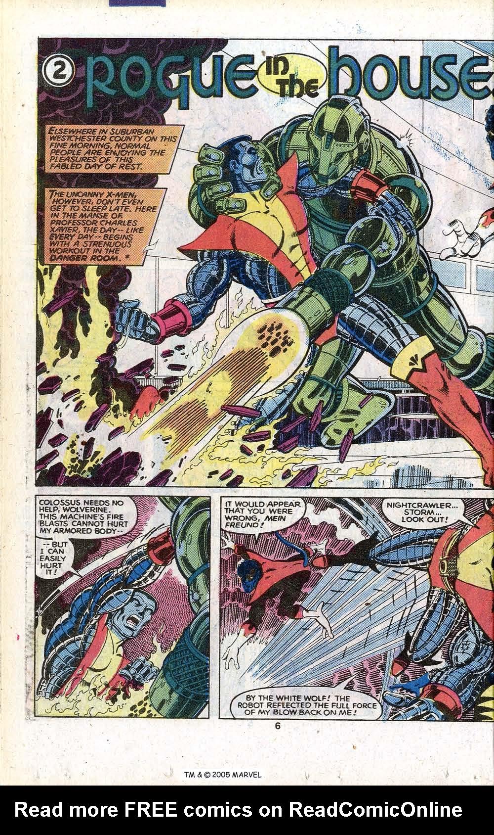 Read online Uncanny X-Men (1963) comic -  Issue # _Annual 3 - 8