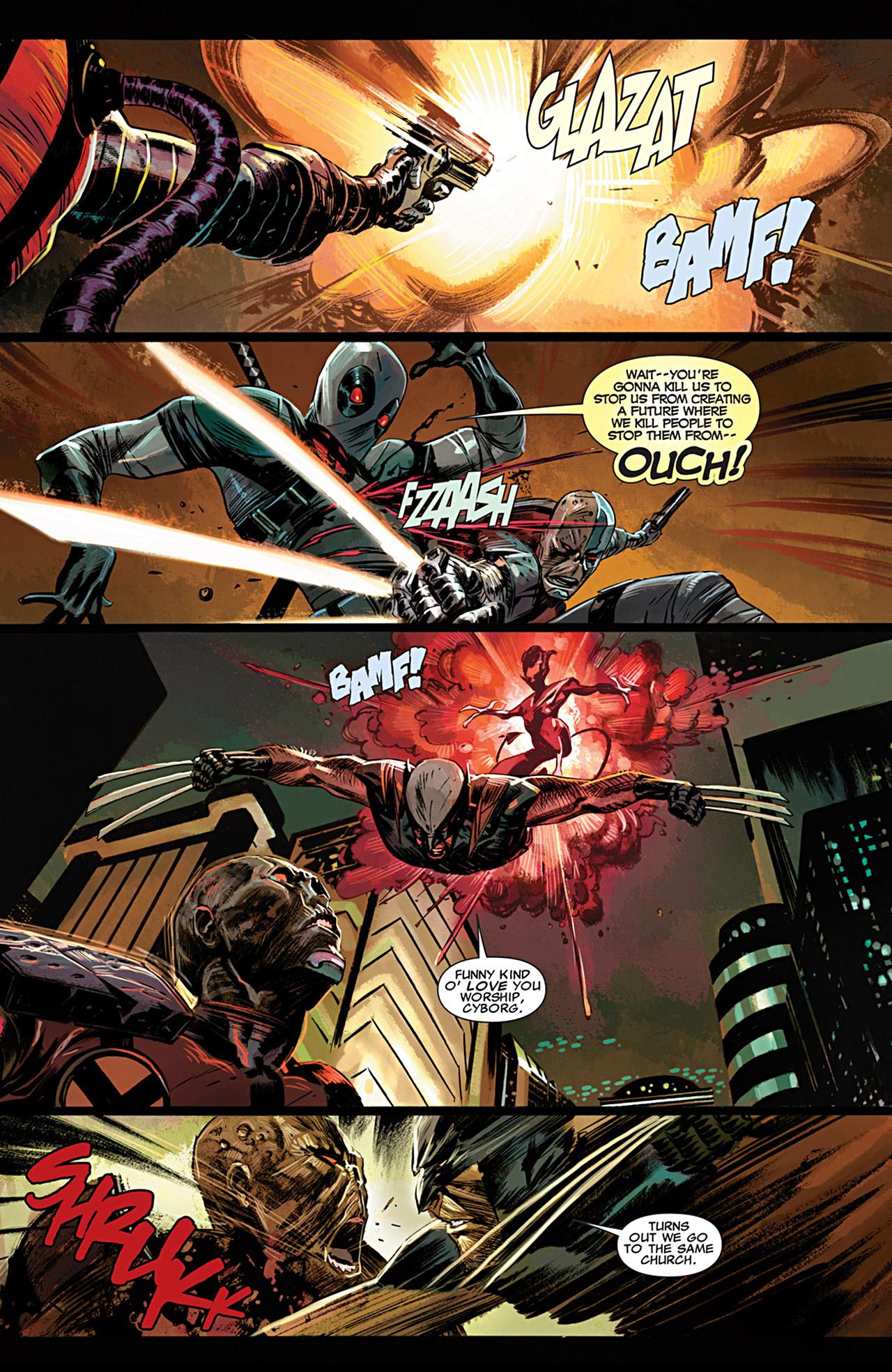 Uncanny X-Force (2010) #28 #30 - English 16
