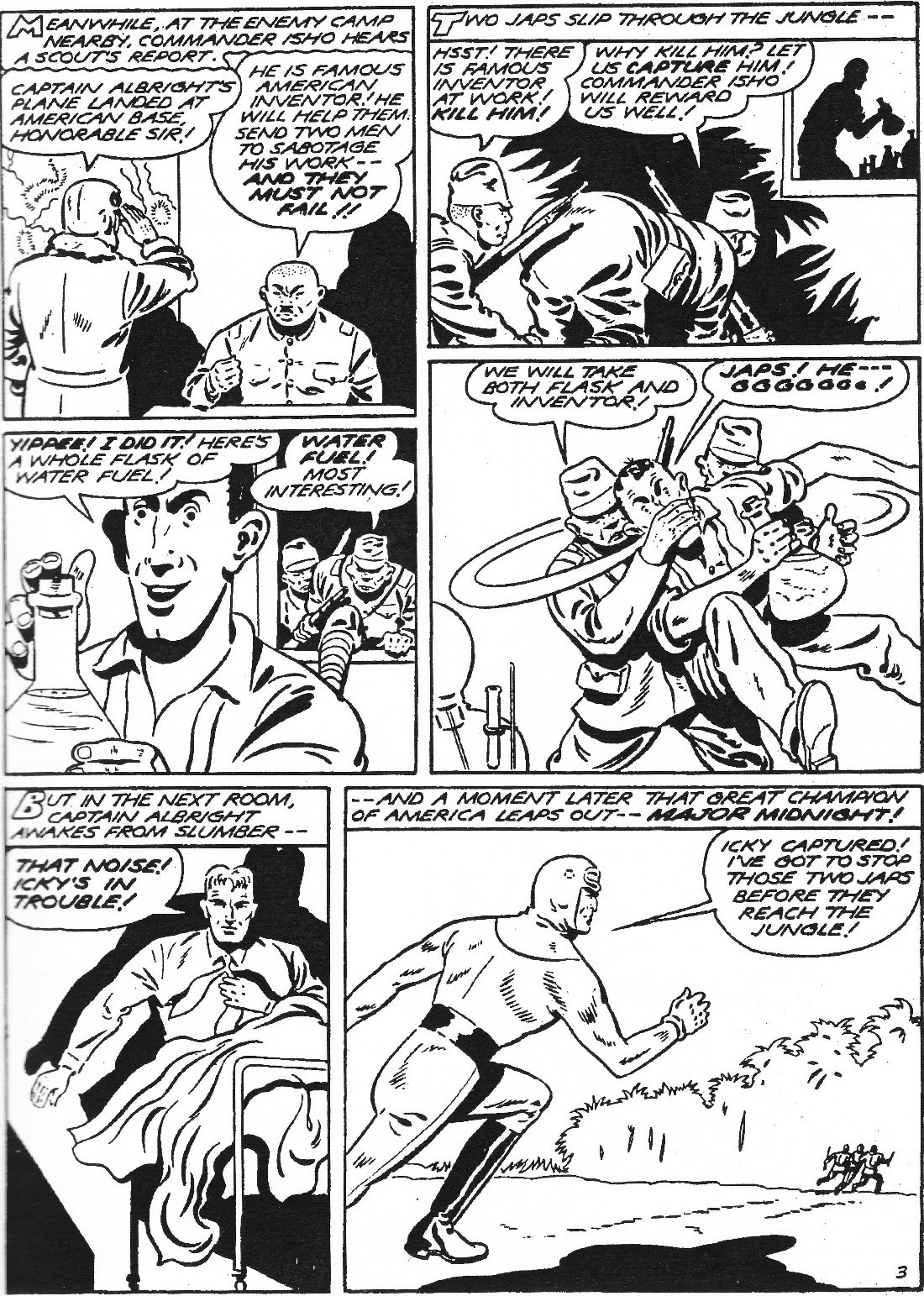 Captain Midnight (1942) issue 11 - Page 4