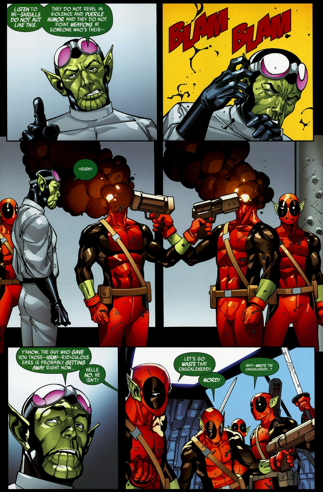 Read online Deadpool (2008) comic -  Issue #3 - 9