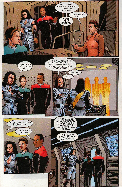 Read online Star Trek: Deep Space Nine - Lightstorm comic -  Issue # Full - 13