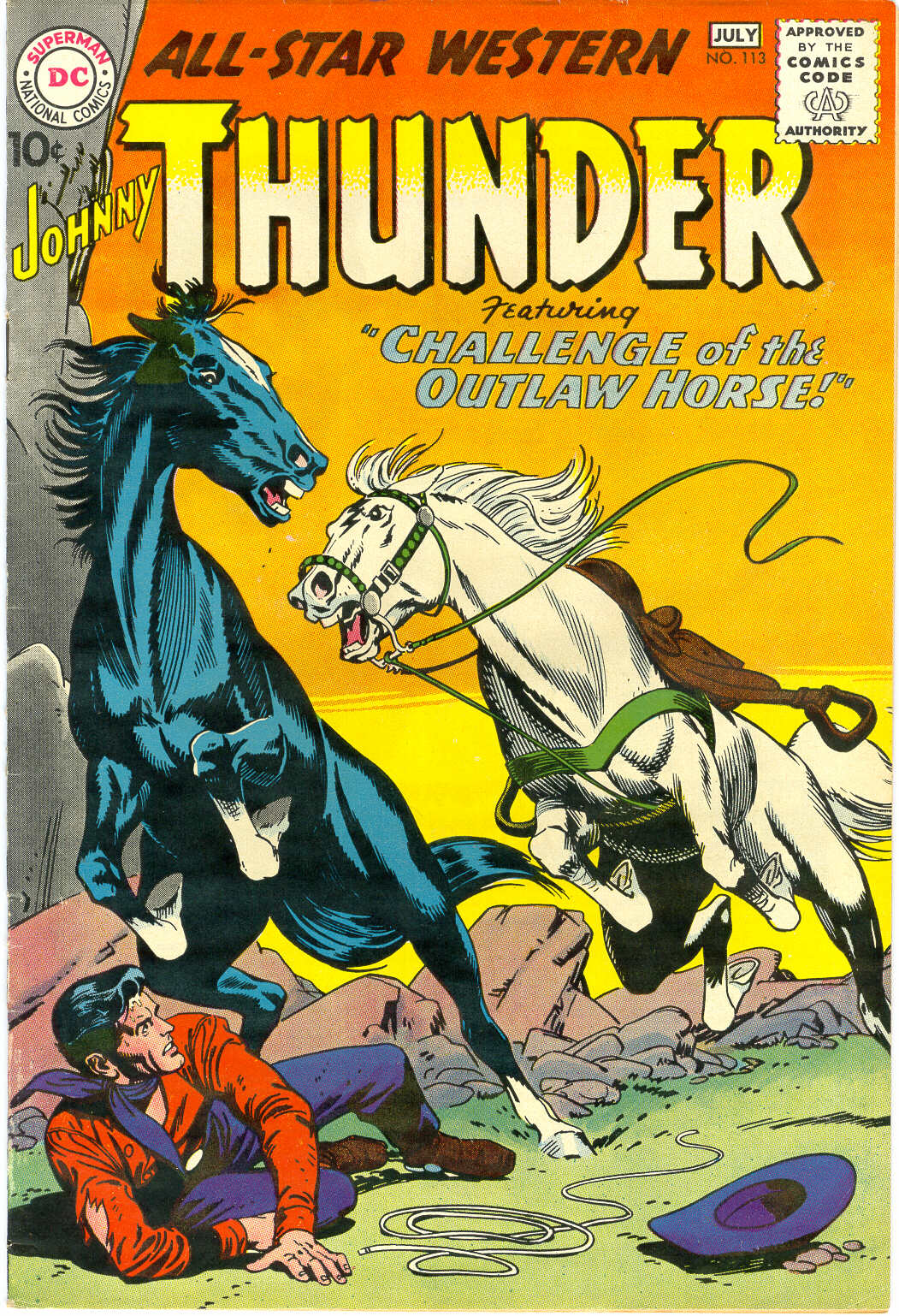 Read online All-Star Western (1951) comic -  Issue #113 - 1