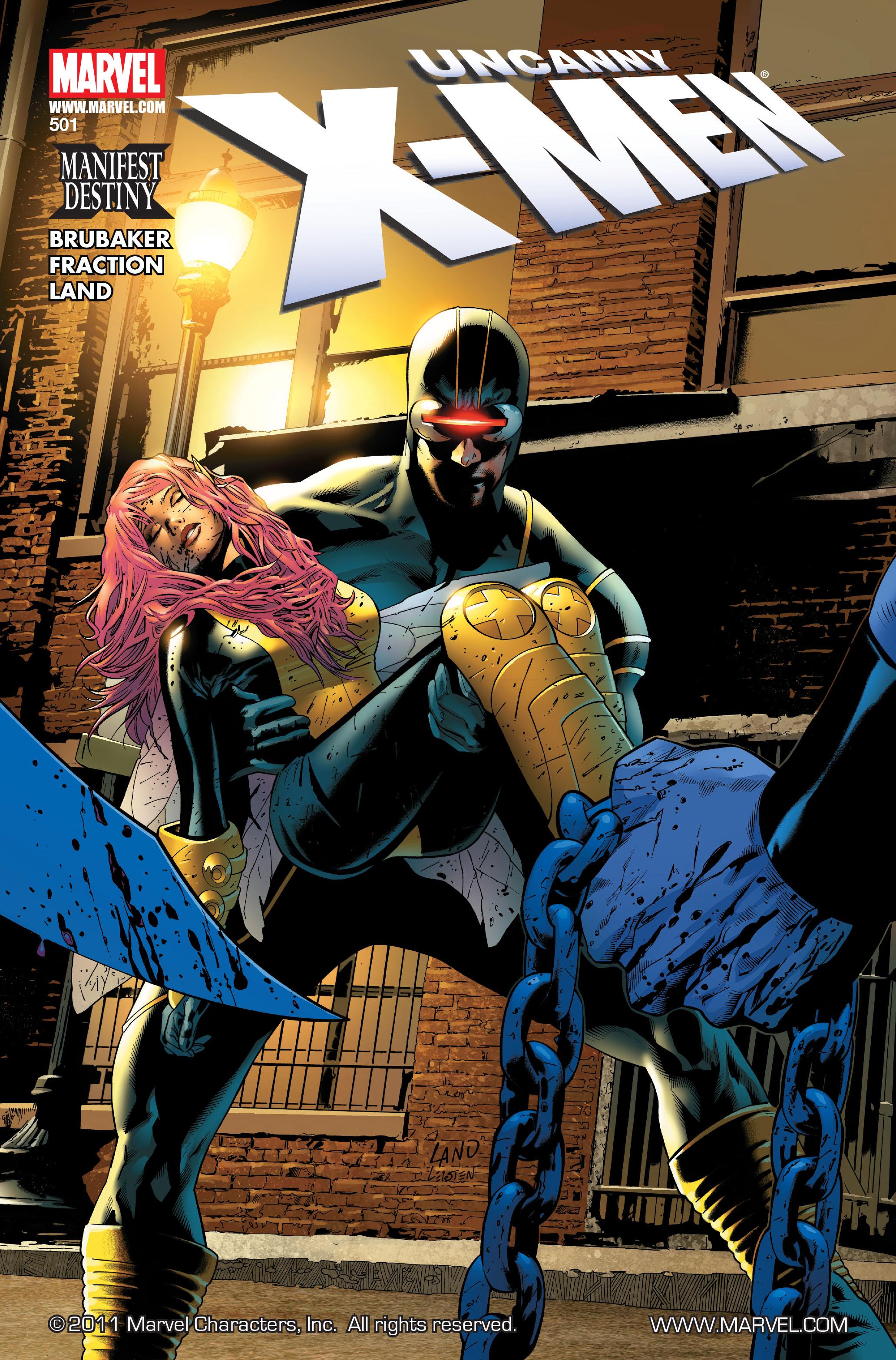 Uncanny X-Men (1963) 501 Page 1