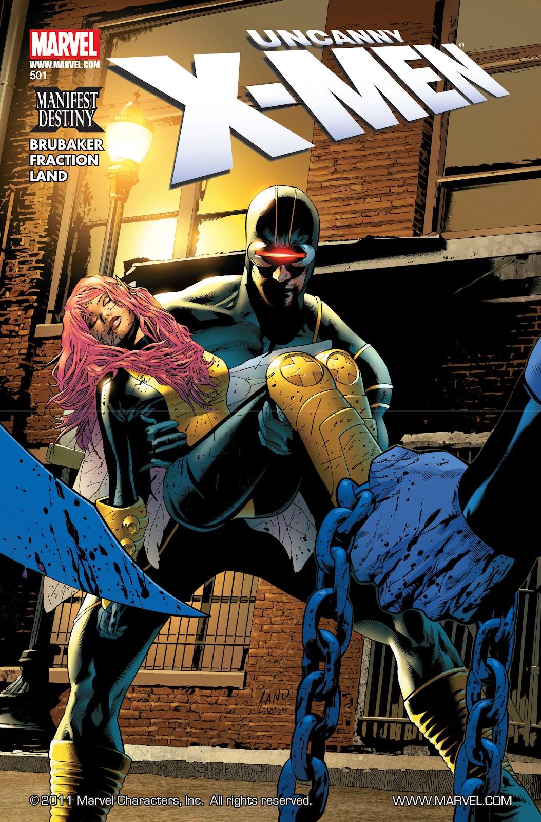 Uncanny X-Men (1963) issue 501 - Page 1