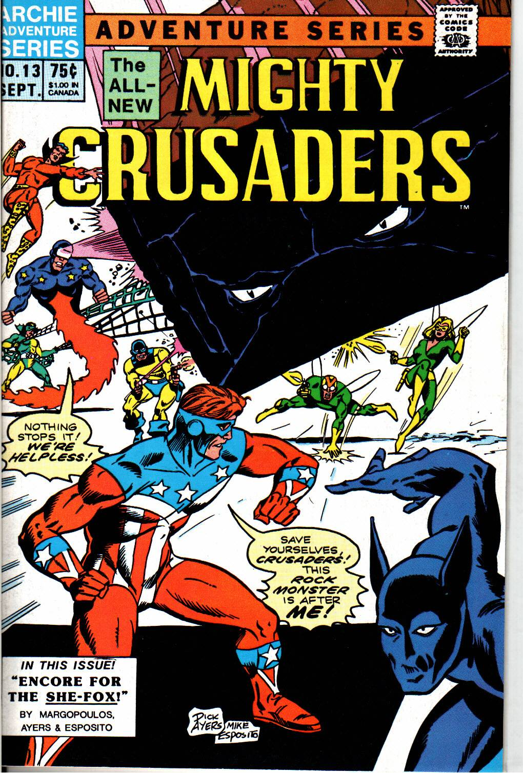 The All New Adventures of the Mighty Crusaders 13 Page 1