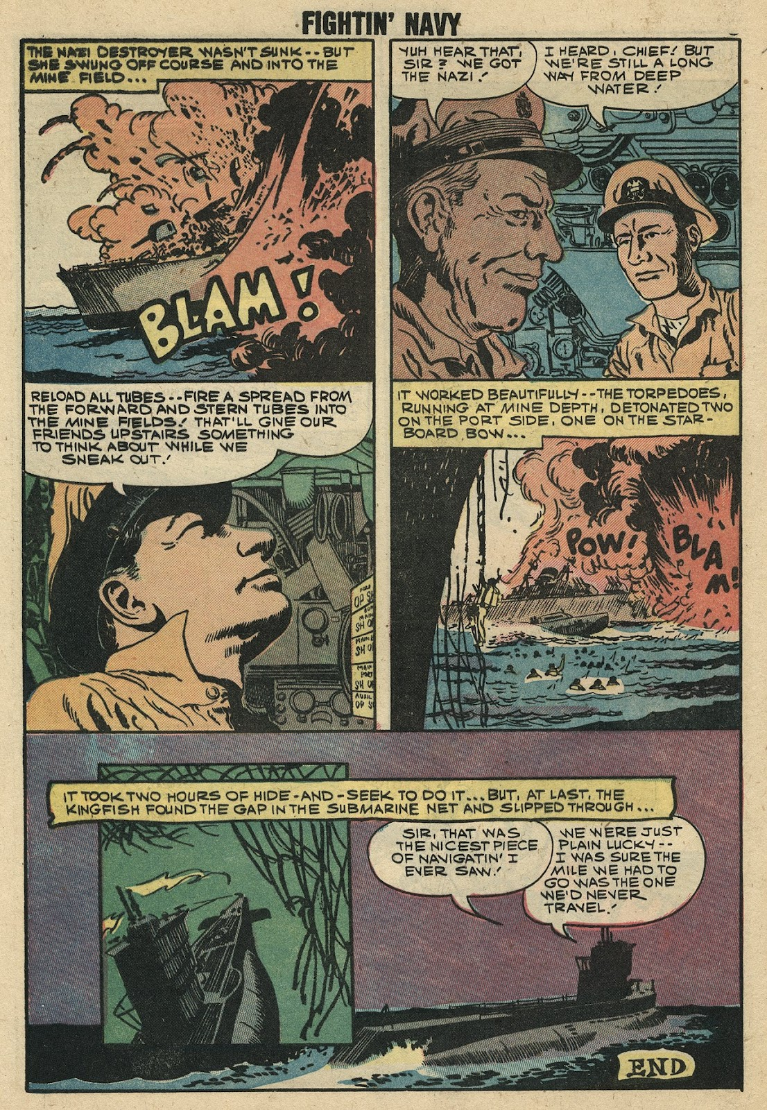 Read online Fightin' Navy comic -  Issue #86 - 8