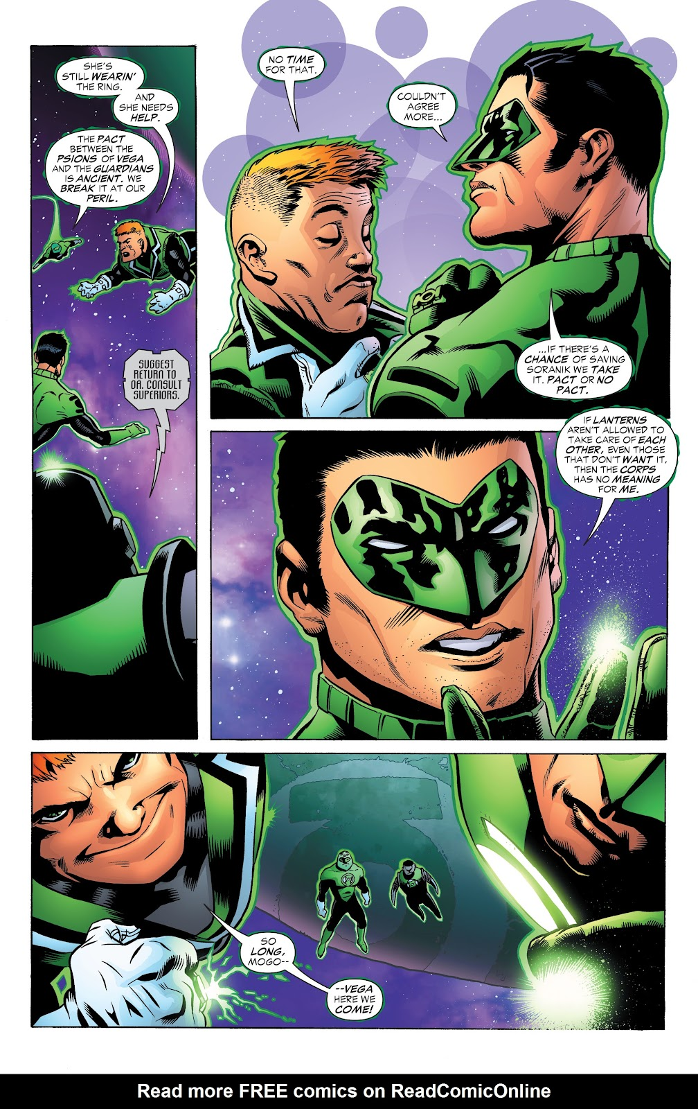 Read online Green Lantern by Geoff Johns comic -  Issue # TPB 1 (Part 3) - 26