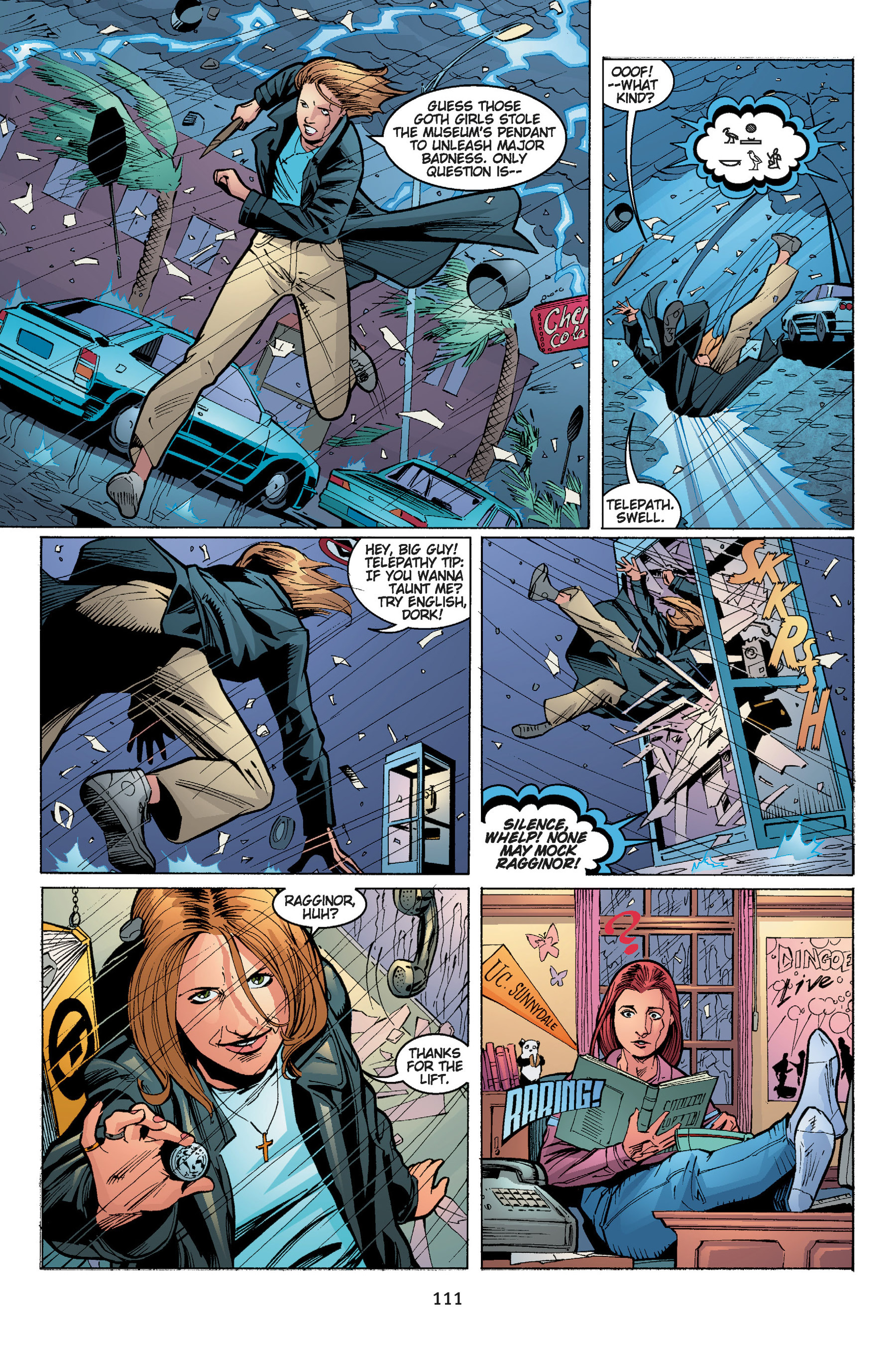 Read online Buffy the Vampire Slayer: Omnibus comic -  Issue # TPB 5 - 112