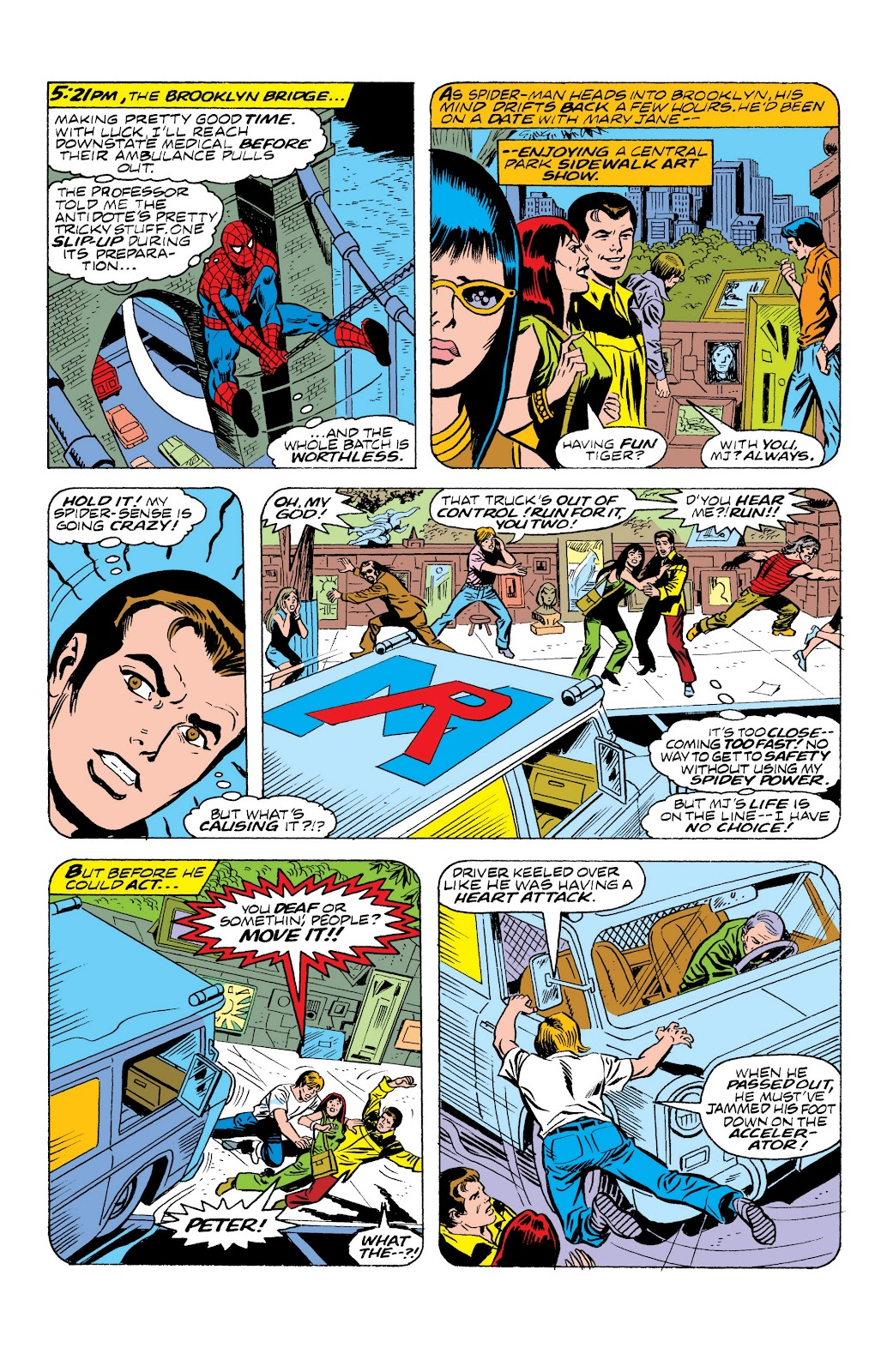Read online Marvel Masterworks: The Spectacular Spider-Man comic -  Issue # TPB (Part 2) - 78
