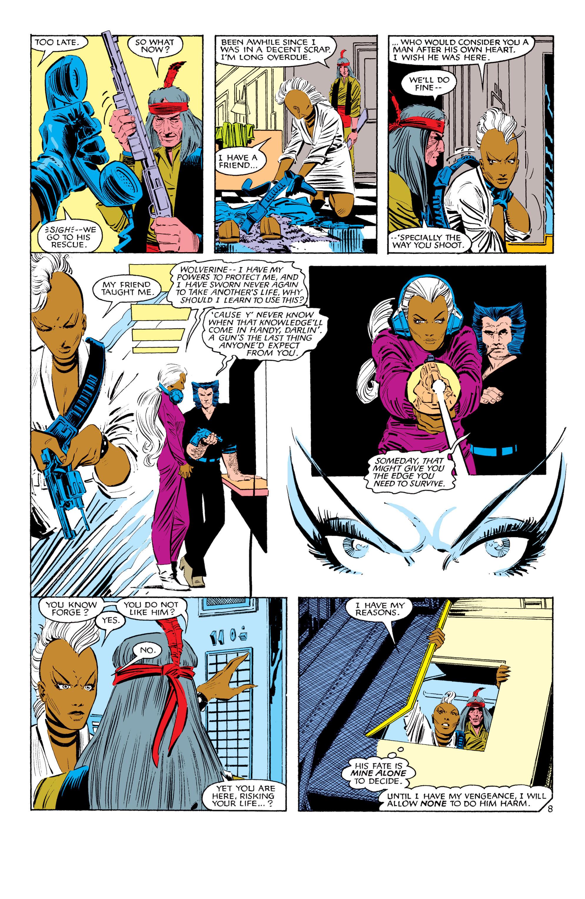 Read online Uncanny X-Men (1963) comic -  Issue #187 - 9
