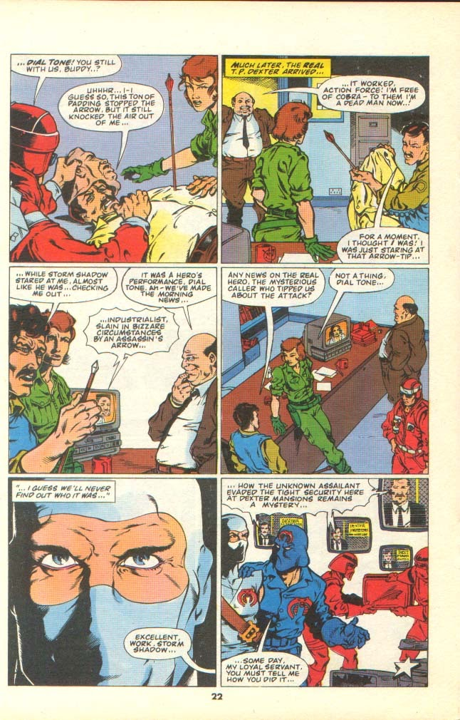 G.I. Joe European Missions issue 7 - Page 20