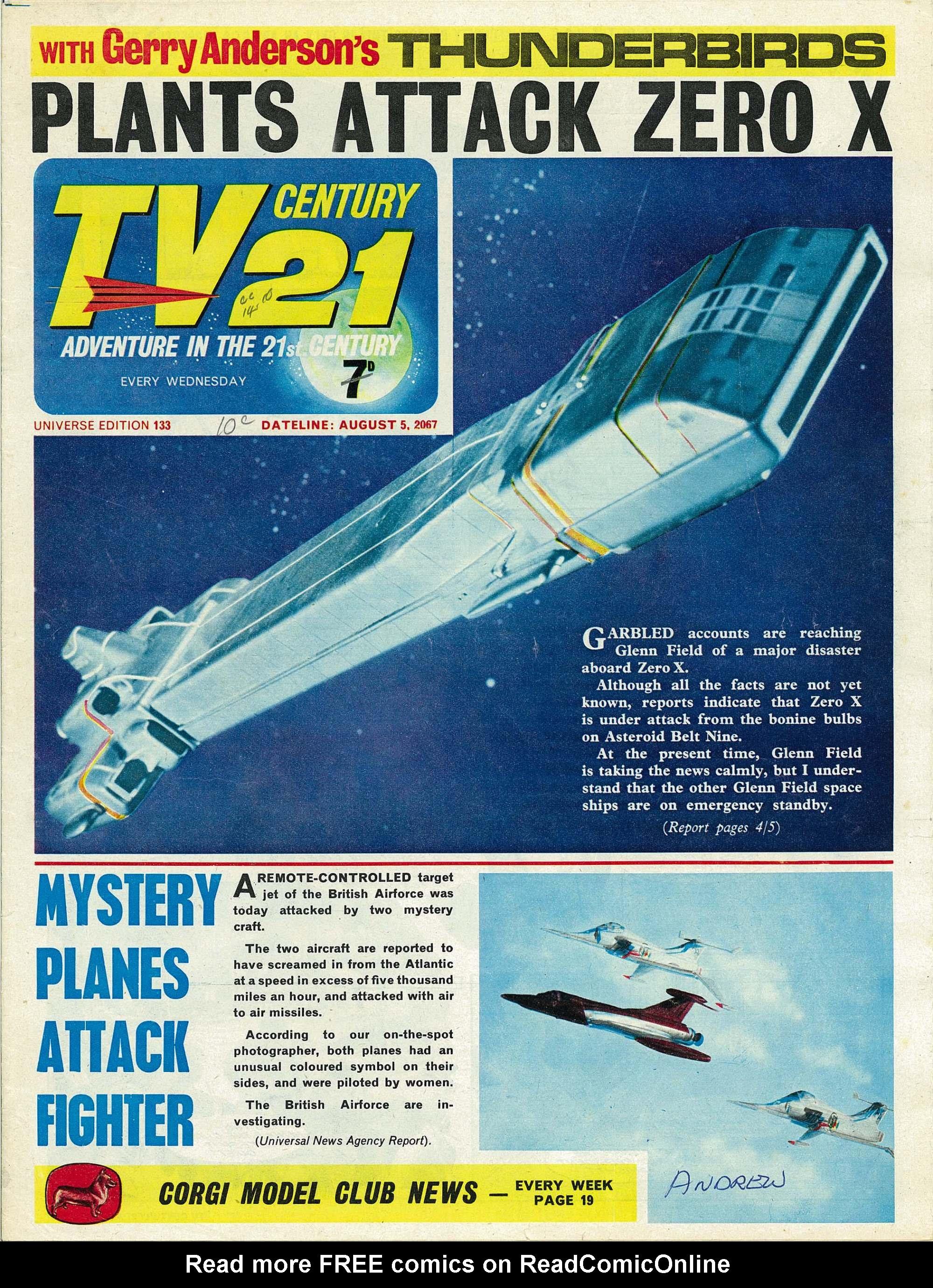 TV Century 21 (TV 21) 133 Page 1