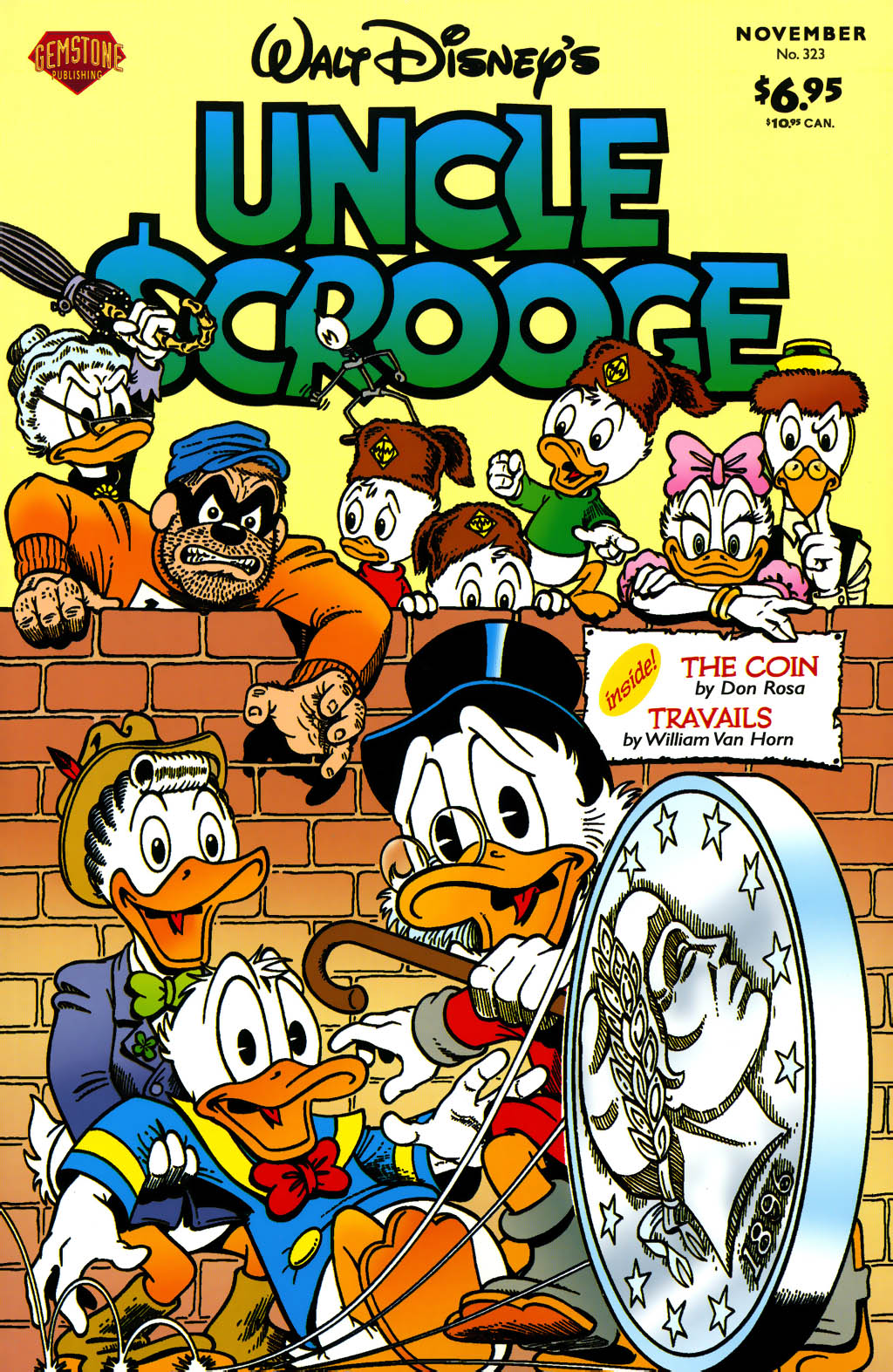 Read online Uncle Scrooge (1953) comic -  Issue #323 - 1