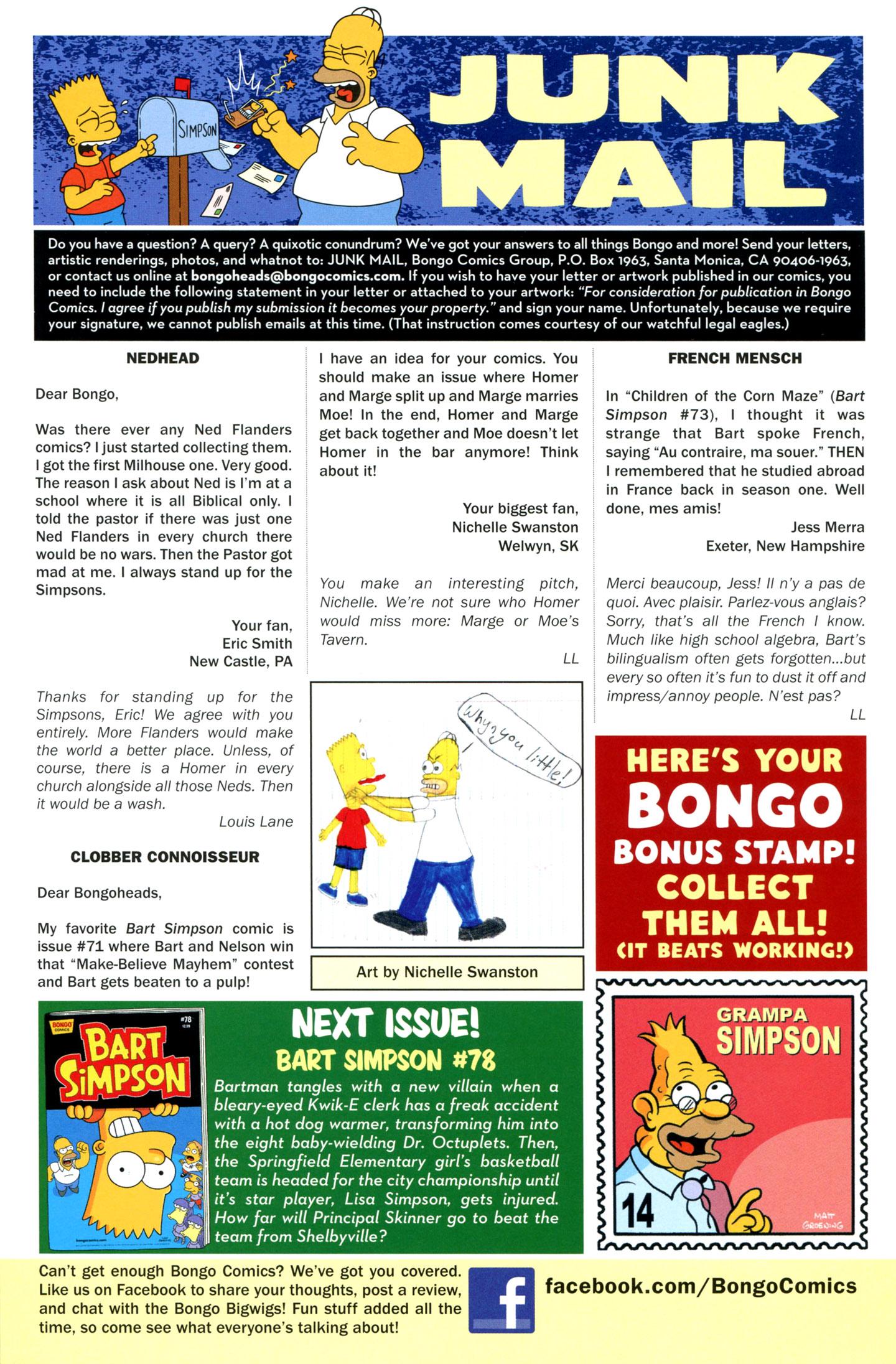 Read online Simpsons Comics Presents Bart Simpson comic -  Issue #77 - 30