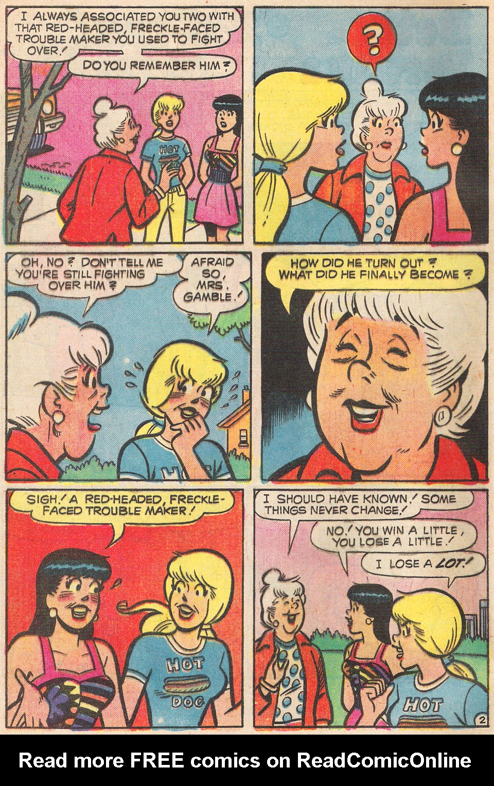 Read online Archie's Girls Betty and Veronica comic -  Issue #237 - 4