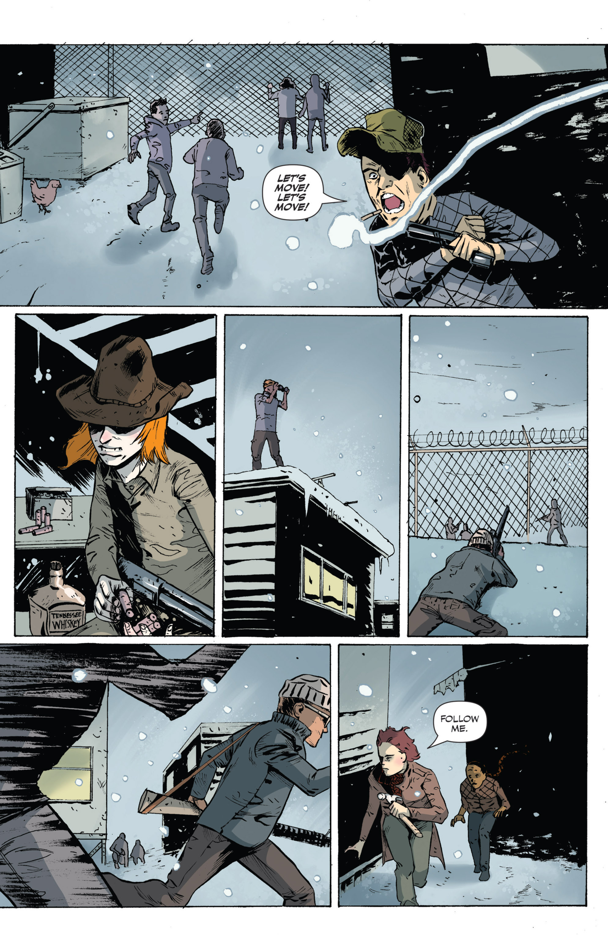 Read online Sheltered comic -  Issue #5 - 16