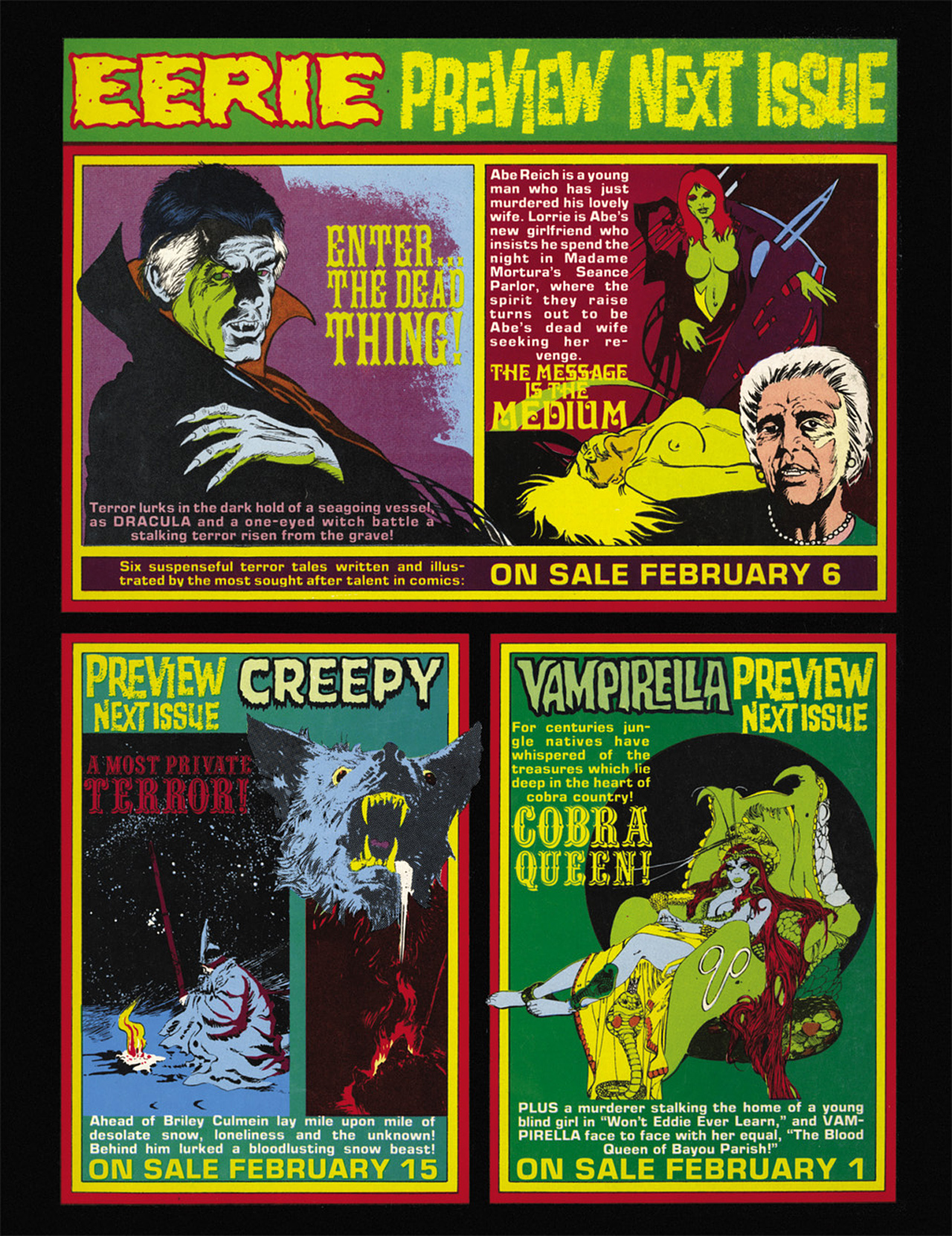 Read online Eerie Archives comic -  Issue # TPB 9 - 269