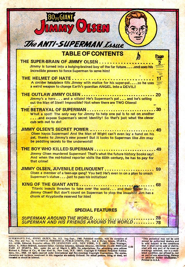 Supermans Pal Jimmy Olsen (1954) 113 Page 3