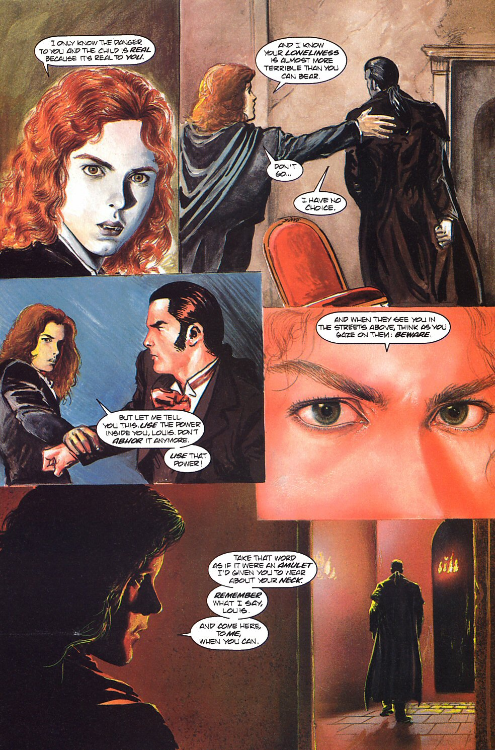 Read online Anne Rice's Interview with the Vampire comic -  Issue #9 - 12