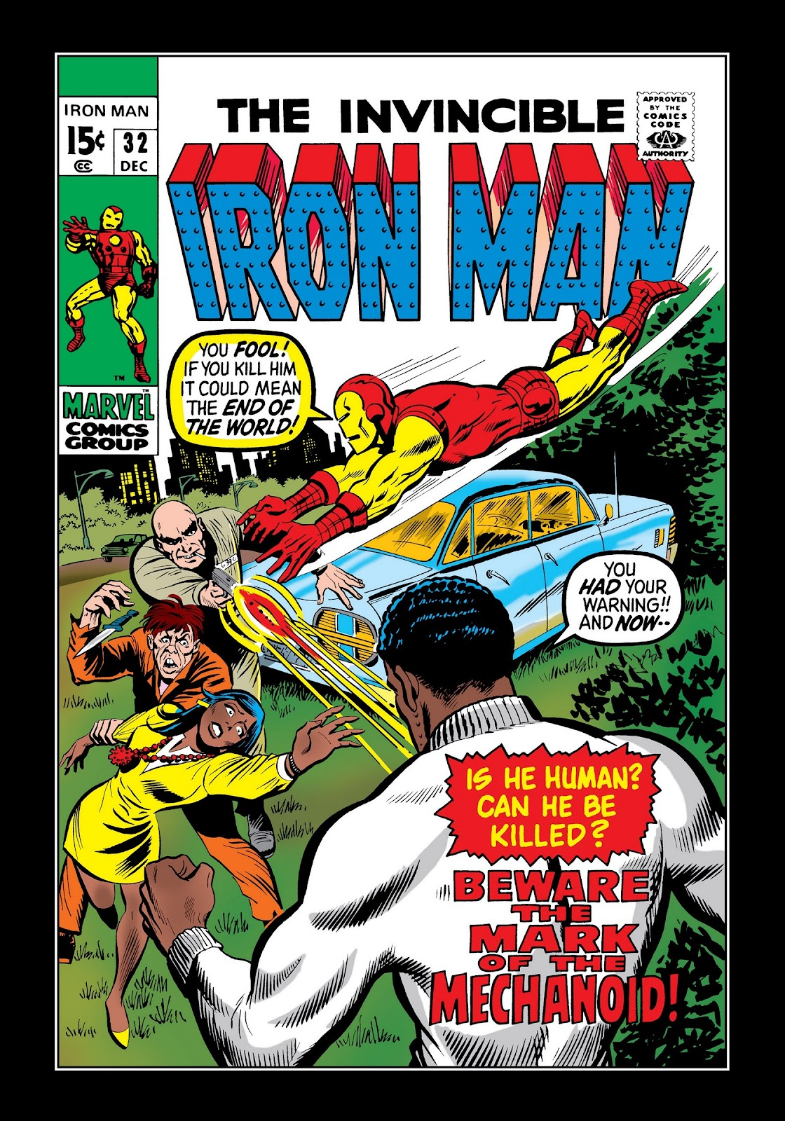 Read online Marvel Masterworks: The Invincible Iron Man comic -  Issue # TPB 7 (Part 2) - 29