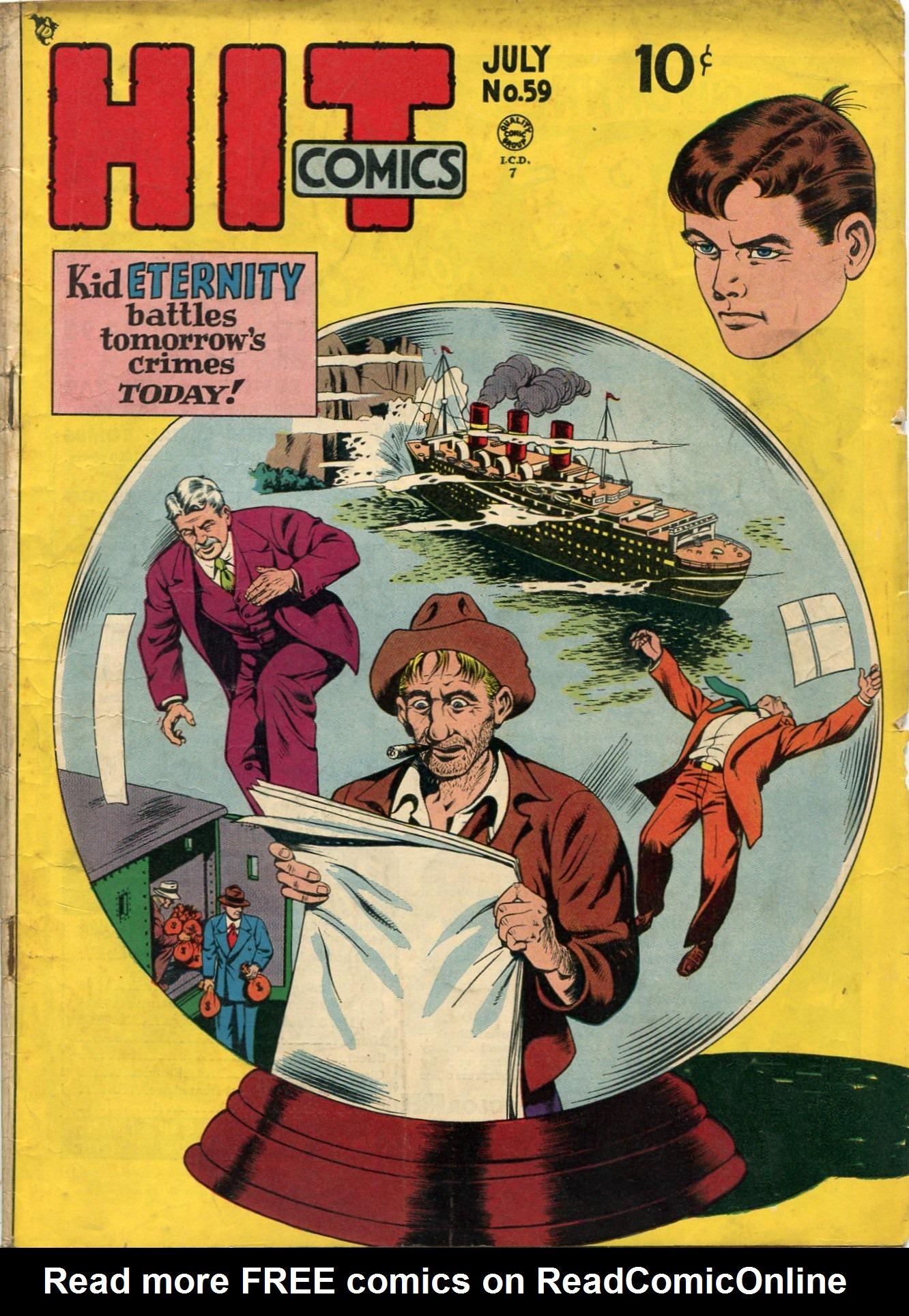 Read online Hit Comics comic -  Issue #59 - 1