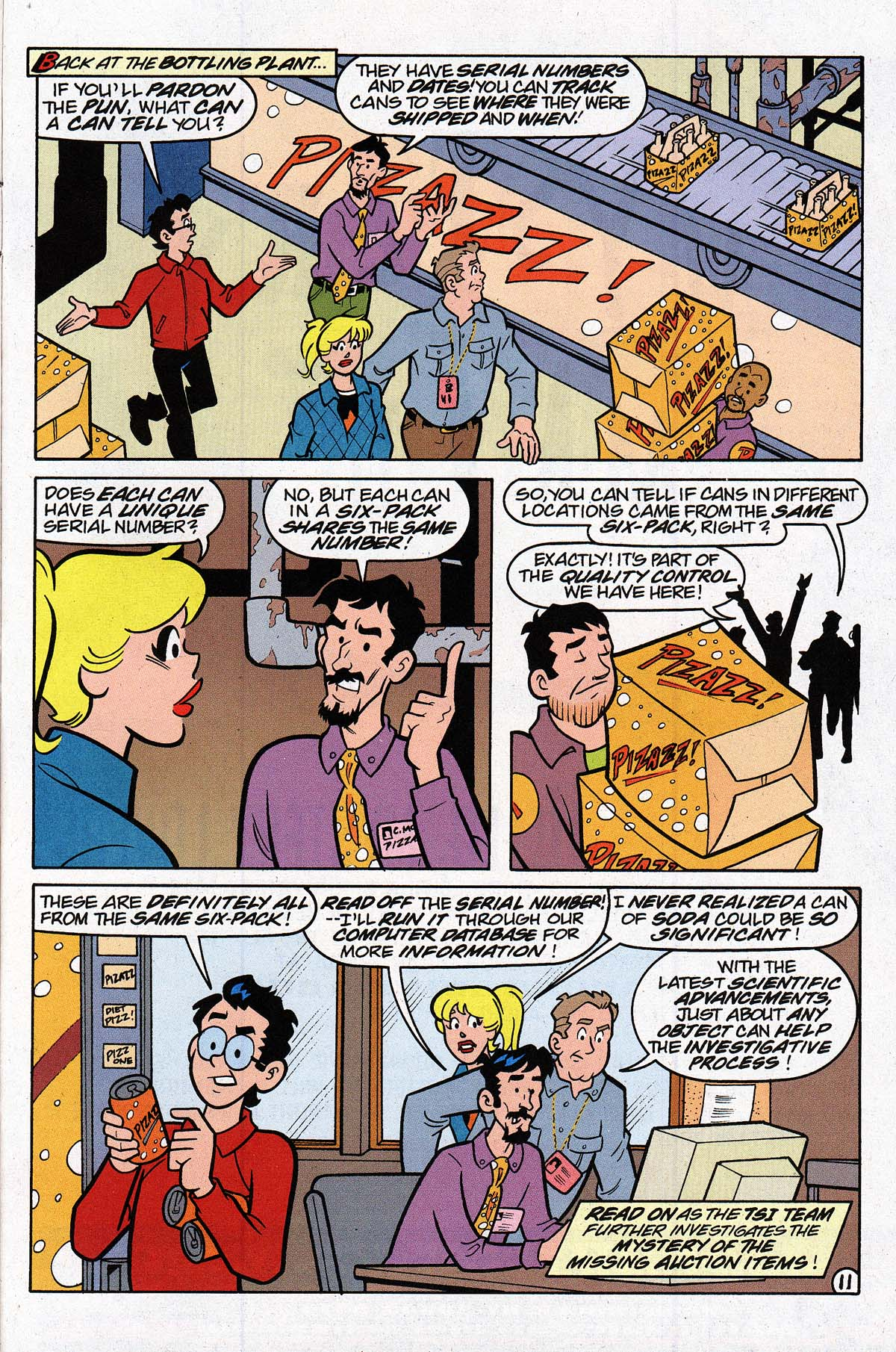 Read online Archie's Weird Mysteries comic -  Issue #27 - 14