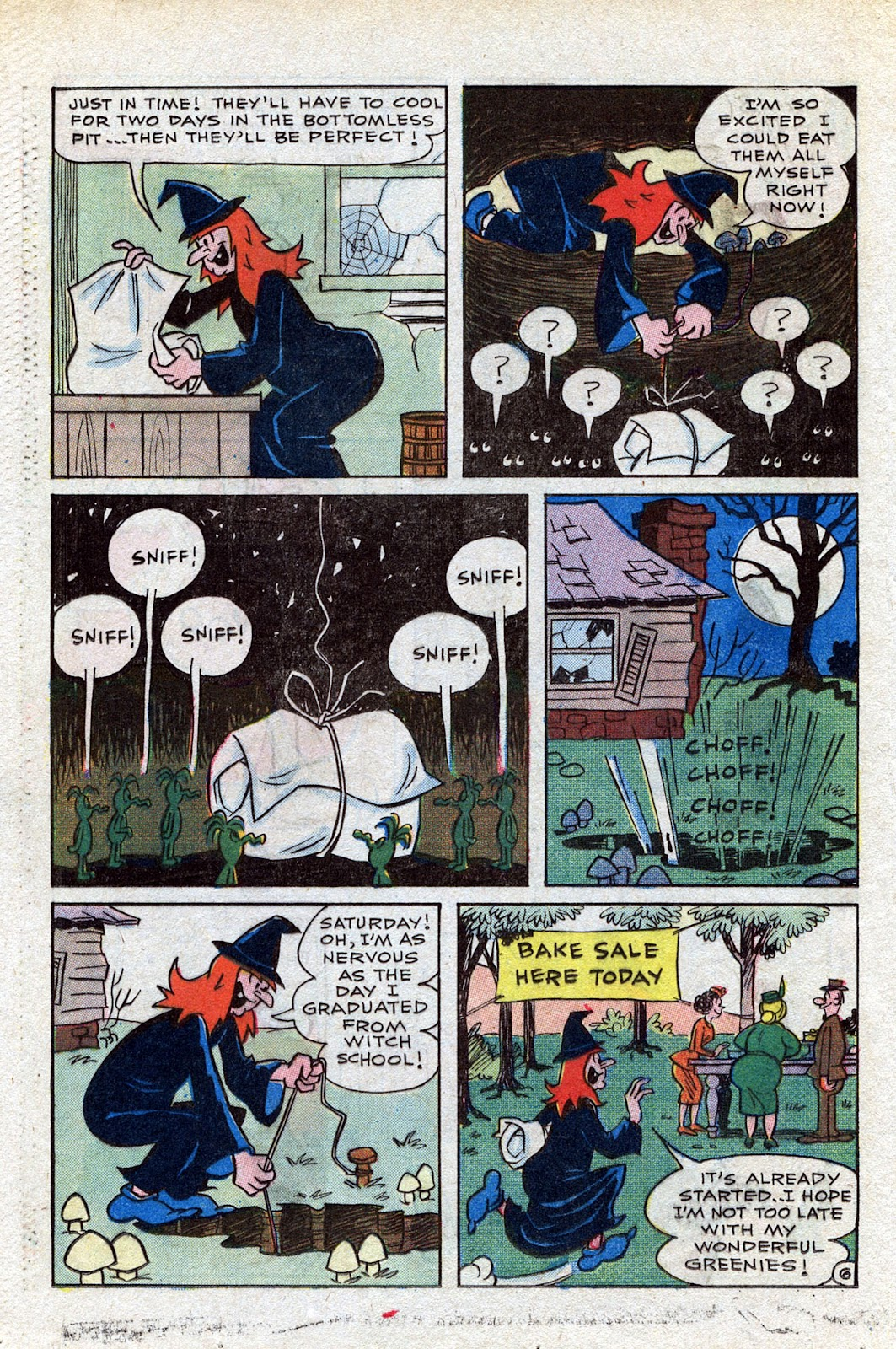 Read online Timmy the Timid Ghost comic -  Issue #15 - 20