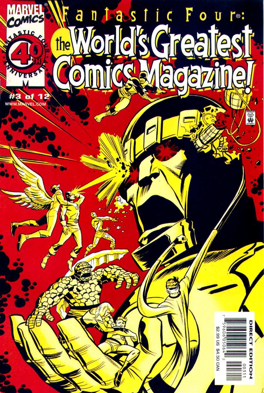 Fantastic Four: Worlds Greatest Comics Magazine 3 Page 1