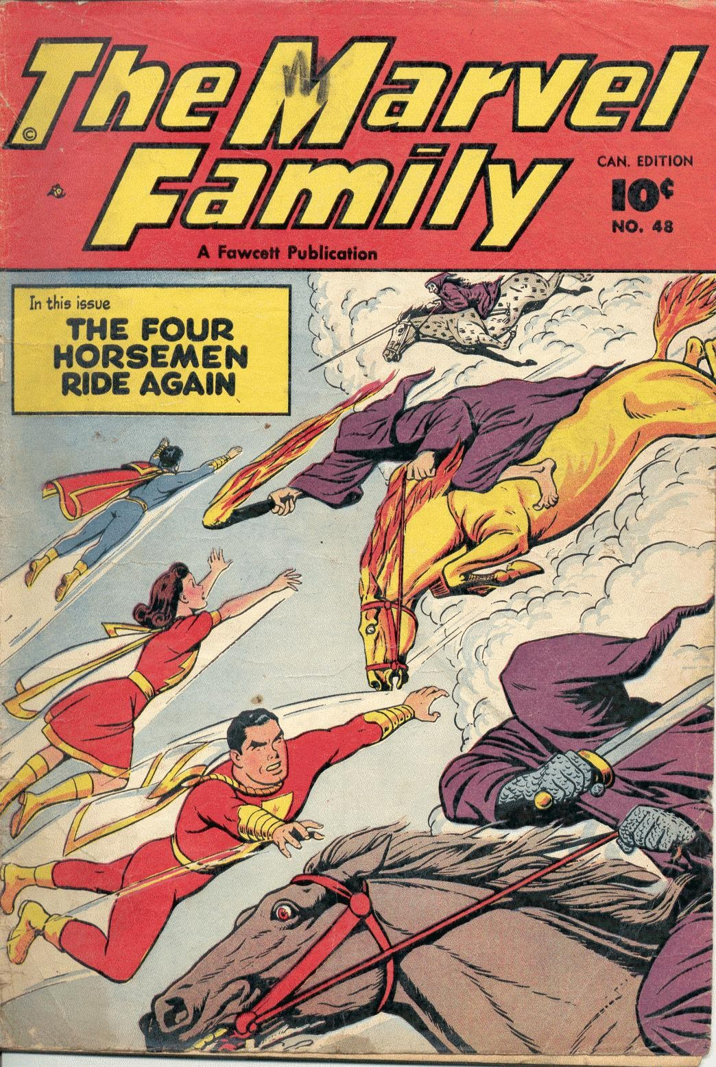 The Marvel Family issue 48 - Page 1