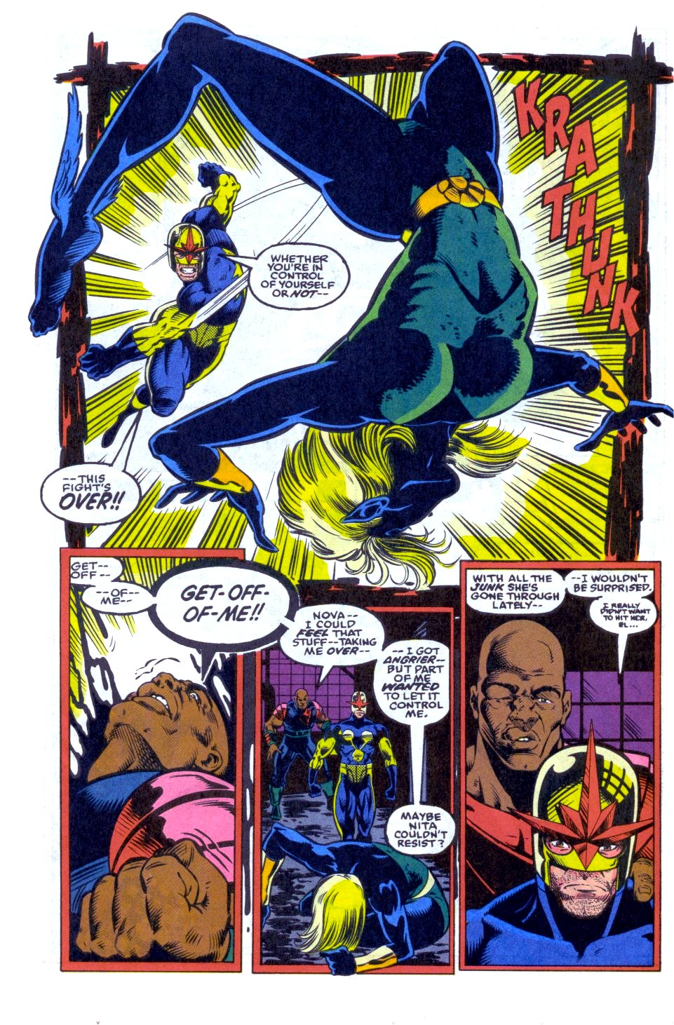 The New Warriors Issue #33 #37 - English 12