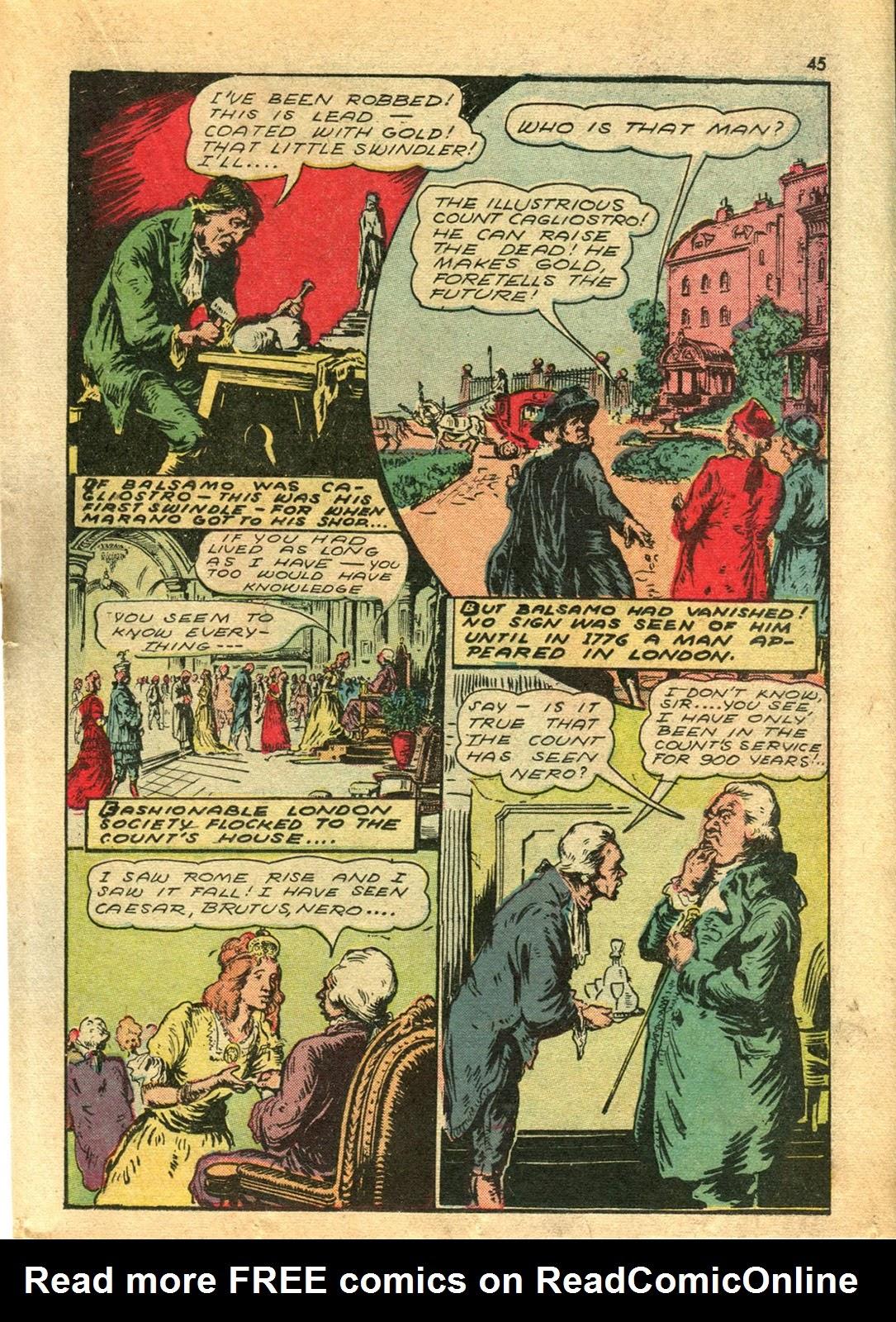 Read online Super-Magician Comics comic -  Issue #14 - 44