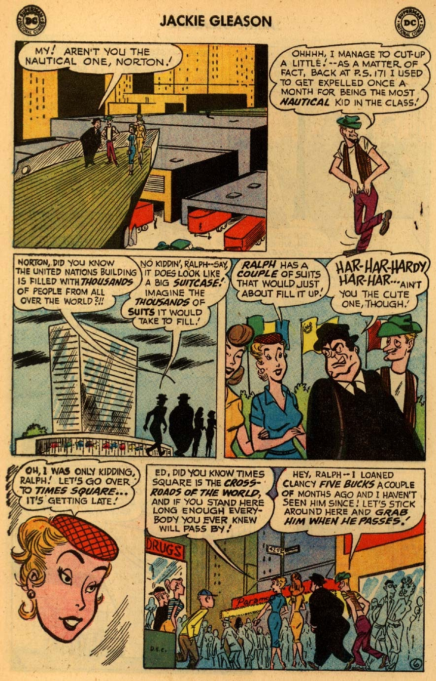 Jackie Gleason and the Honeymooners issue 8 - Page 8