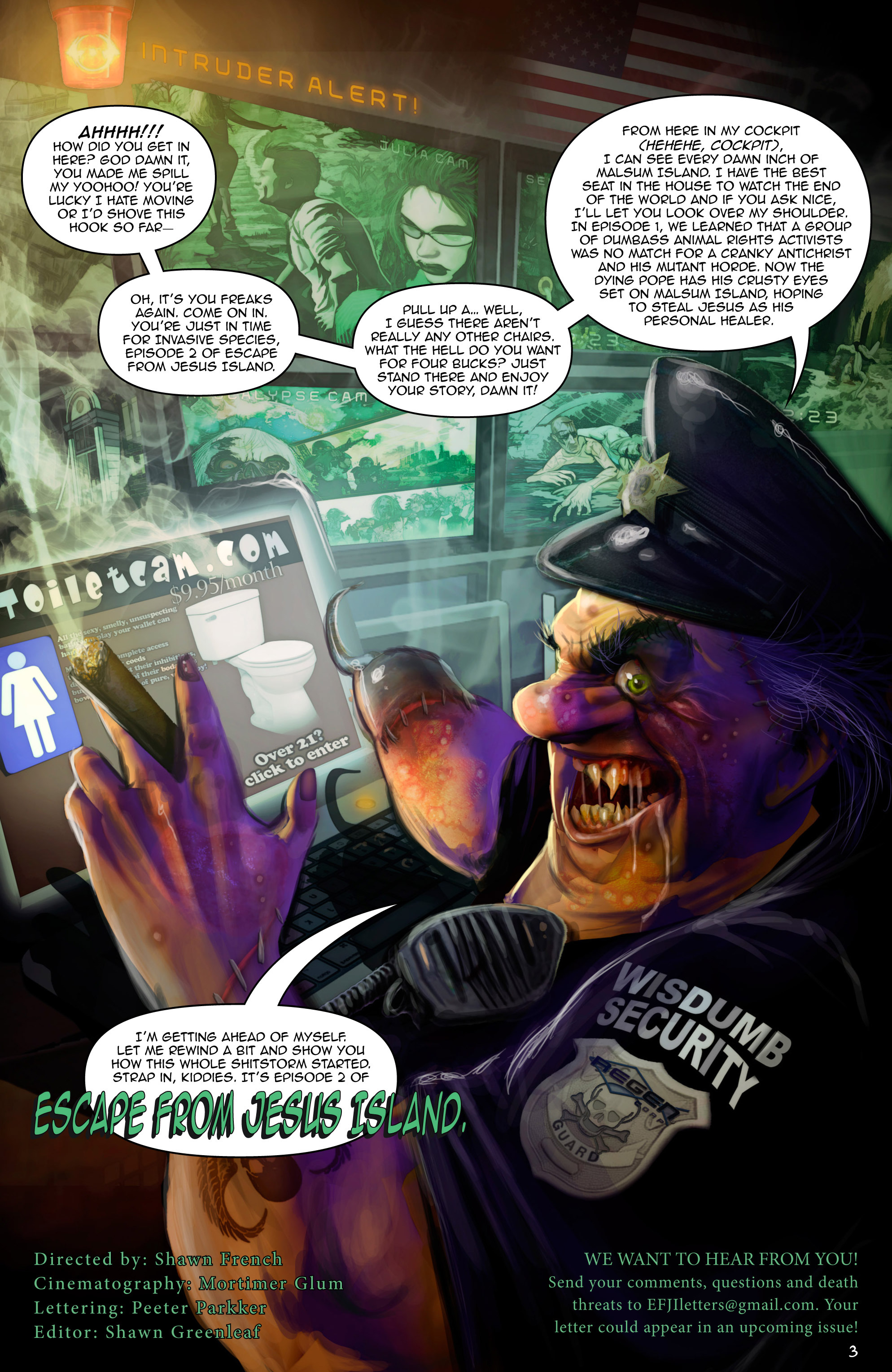 Read online Escape from Jesus Island comic -  Issue #2 - 3