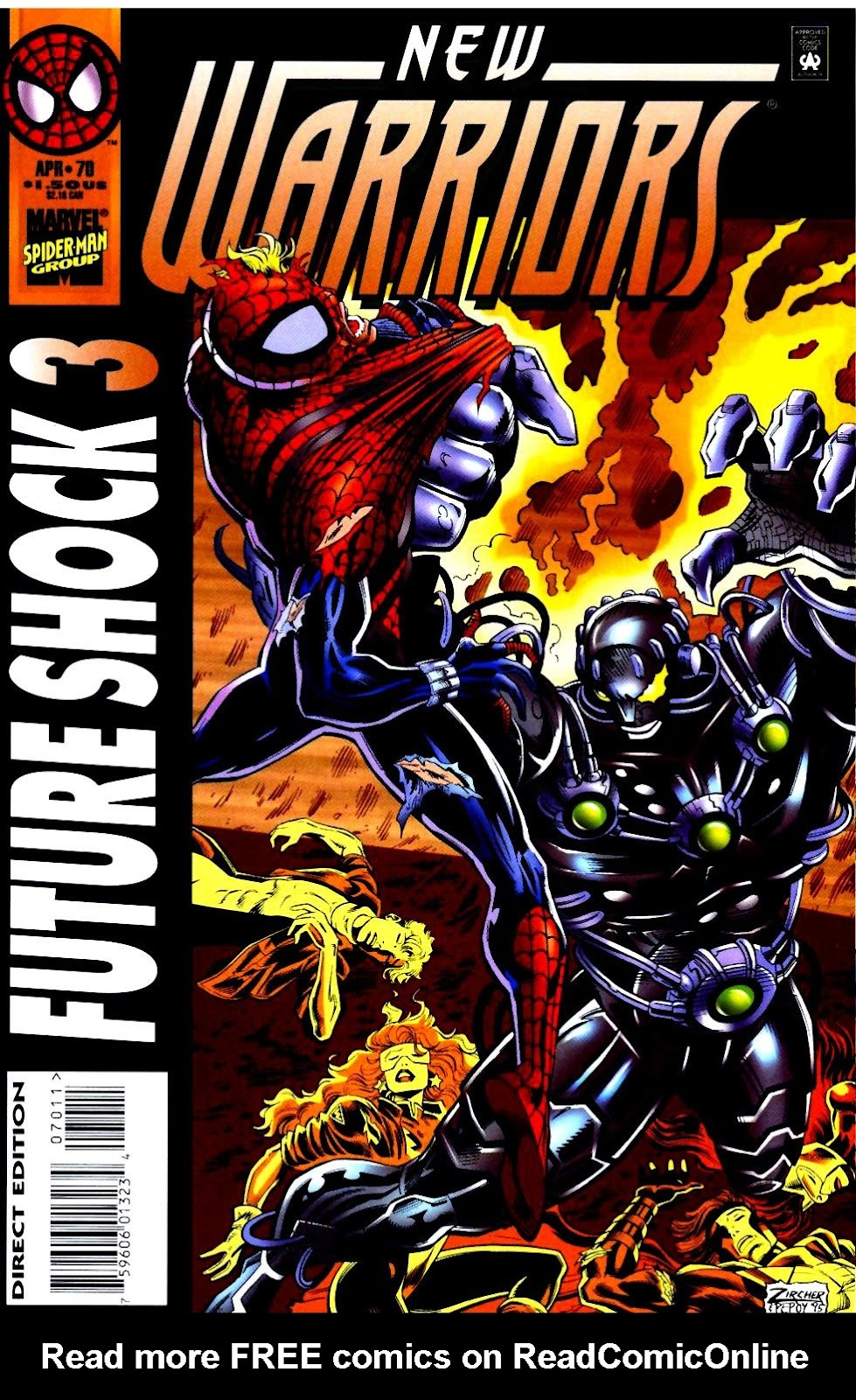 The New Warriors Issue #70 #74 - English 1