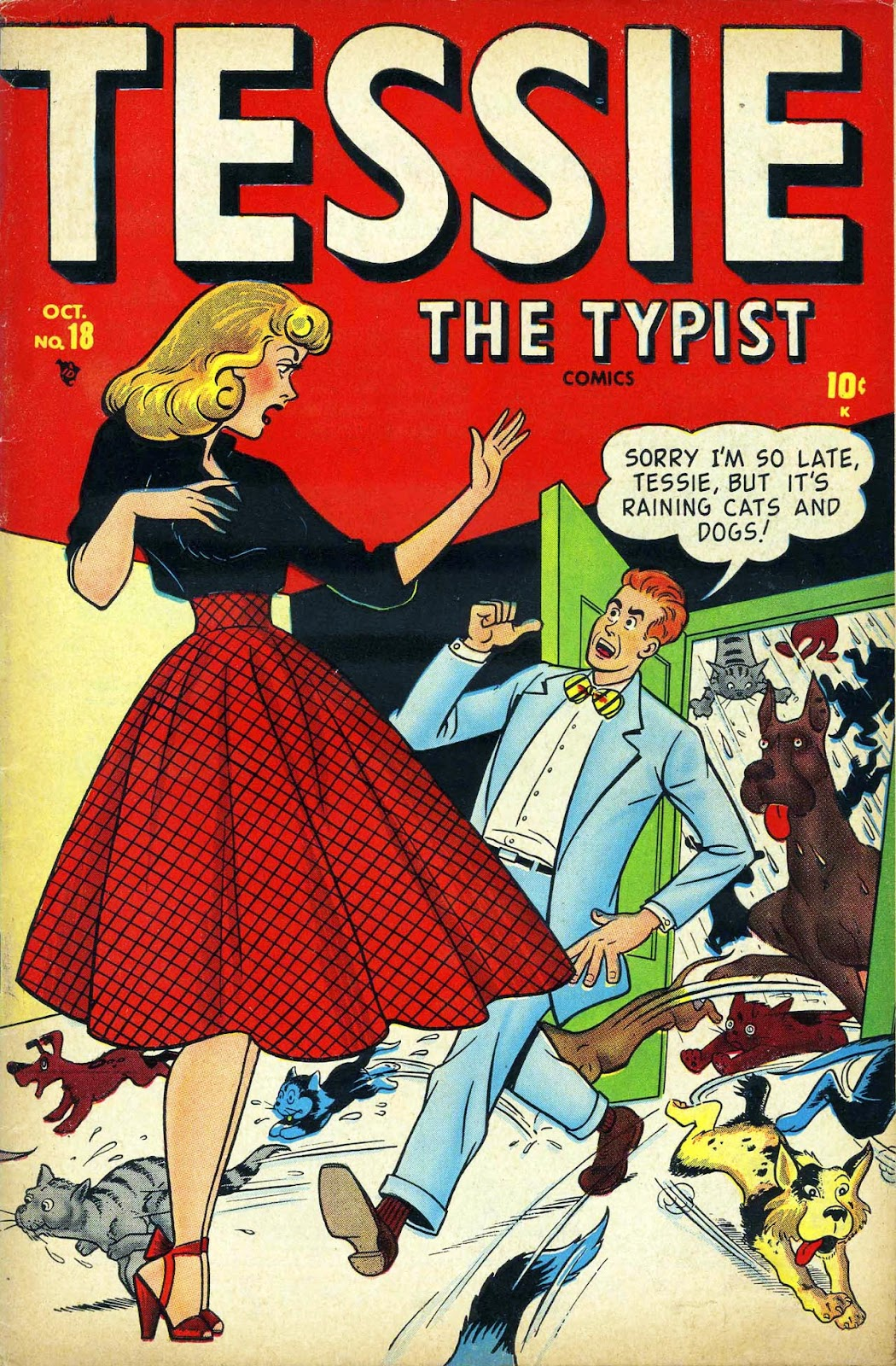 Tessie the Typist issue 18 - Page 1