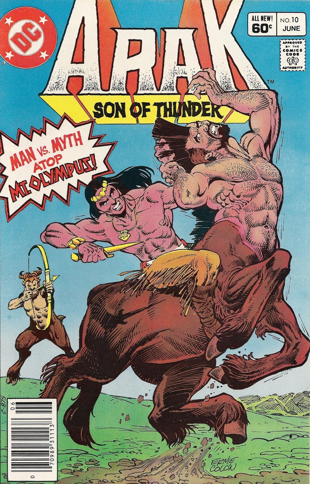 Arak Son of Thunder 10 Page 1